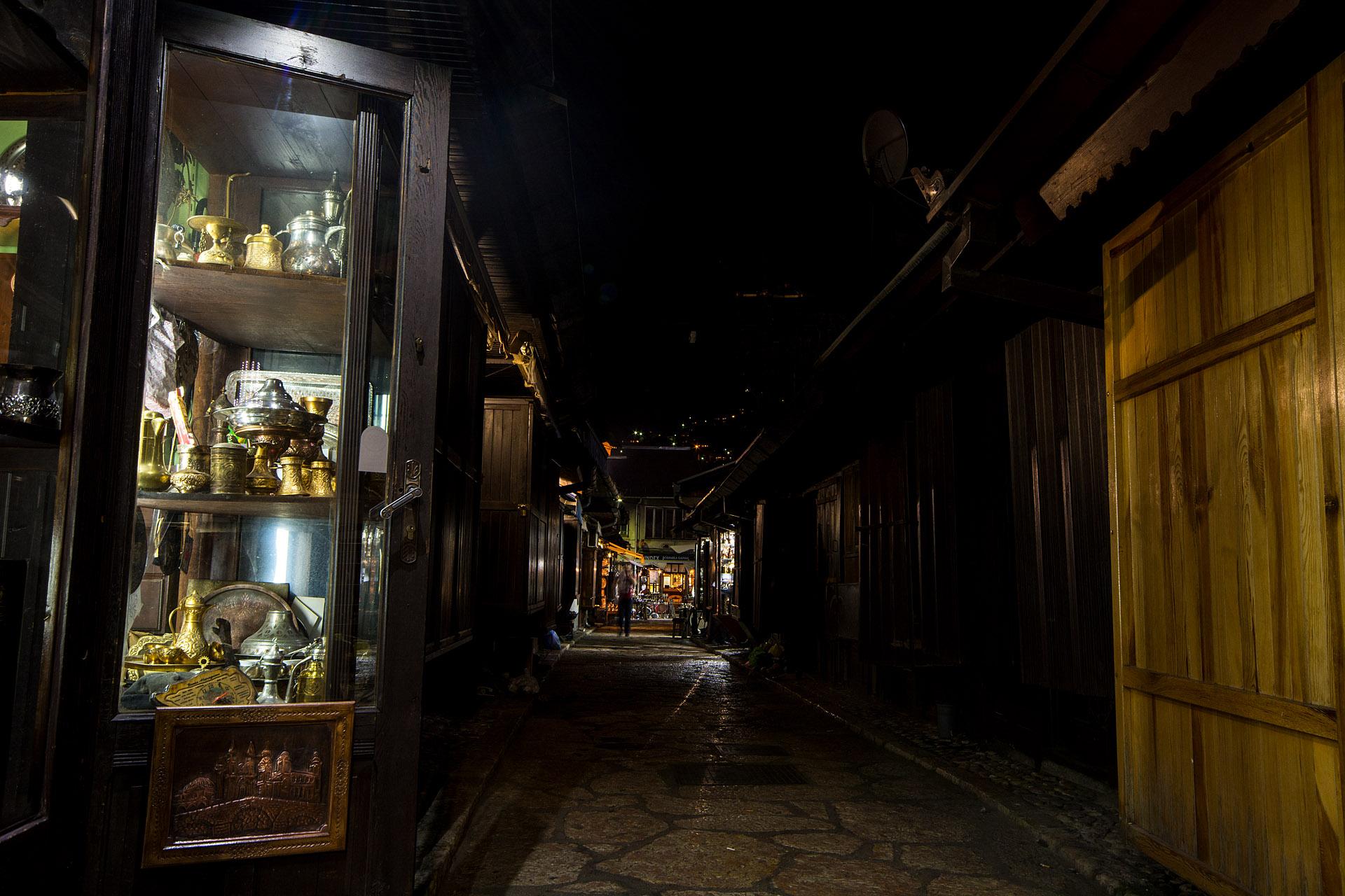 Bascarsija at night