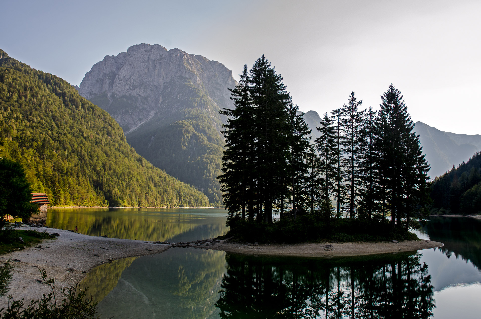 Lago del Predil (Raibl Lake)