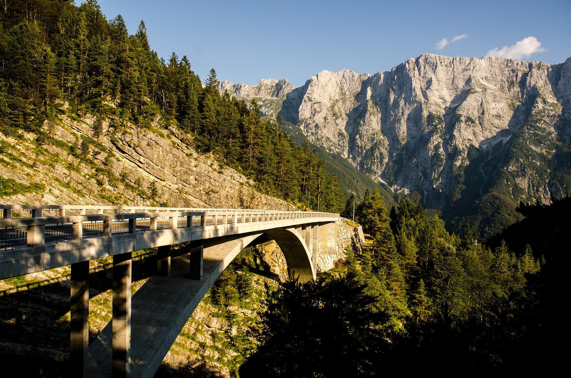 Bridge over Mangart Stream