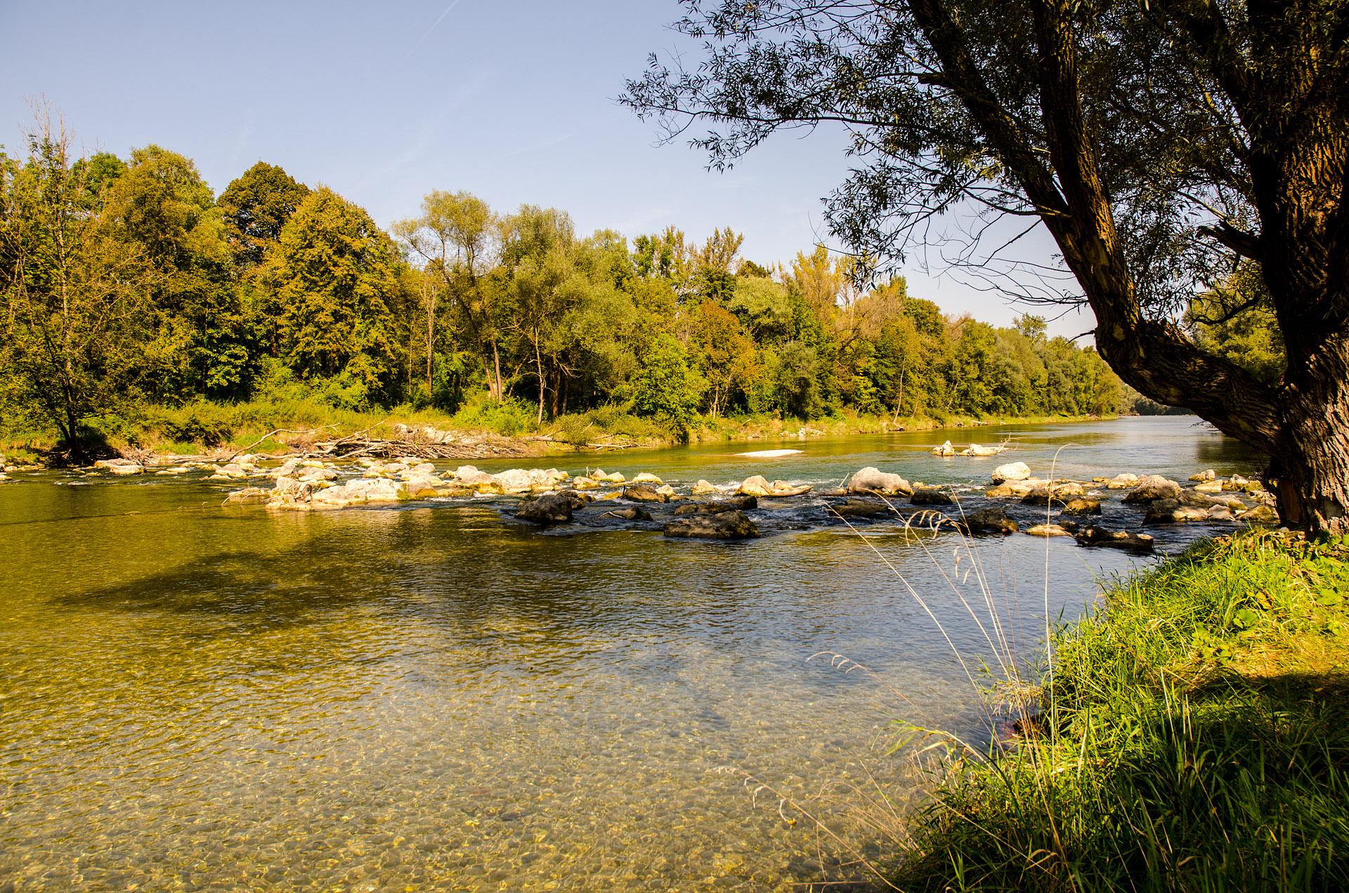 Isar River
