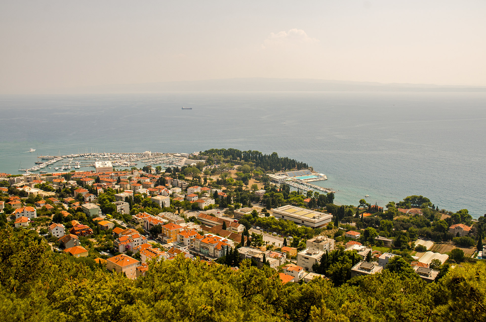 View from Marjan Hill