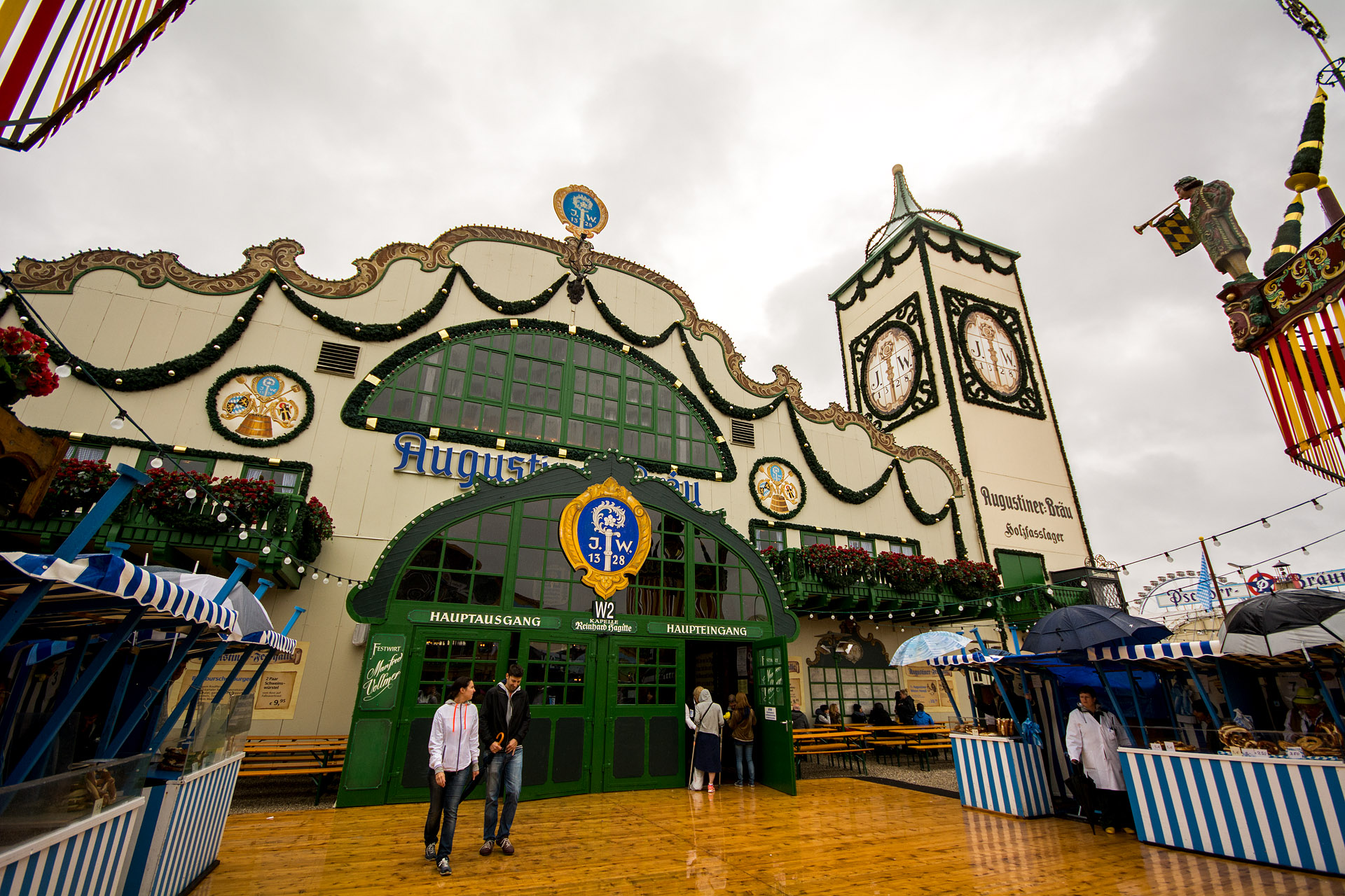 Augustiner tent