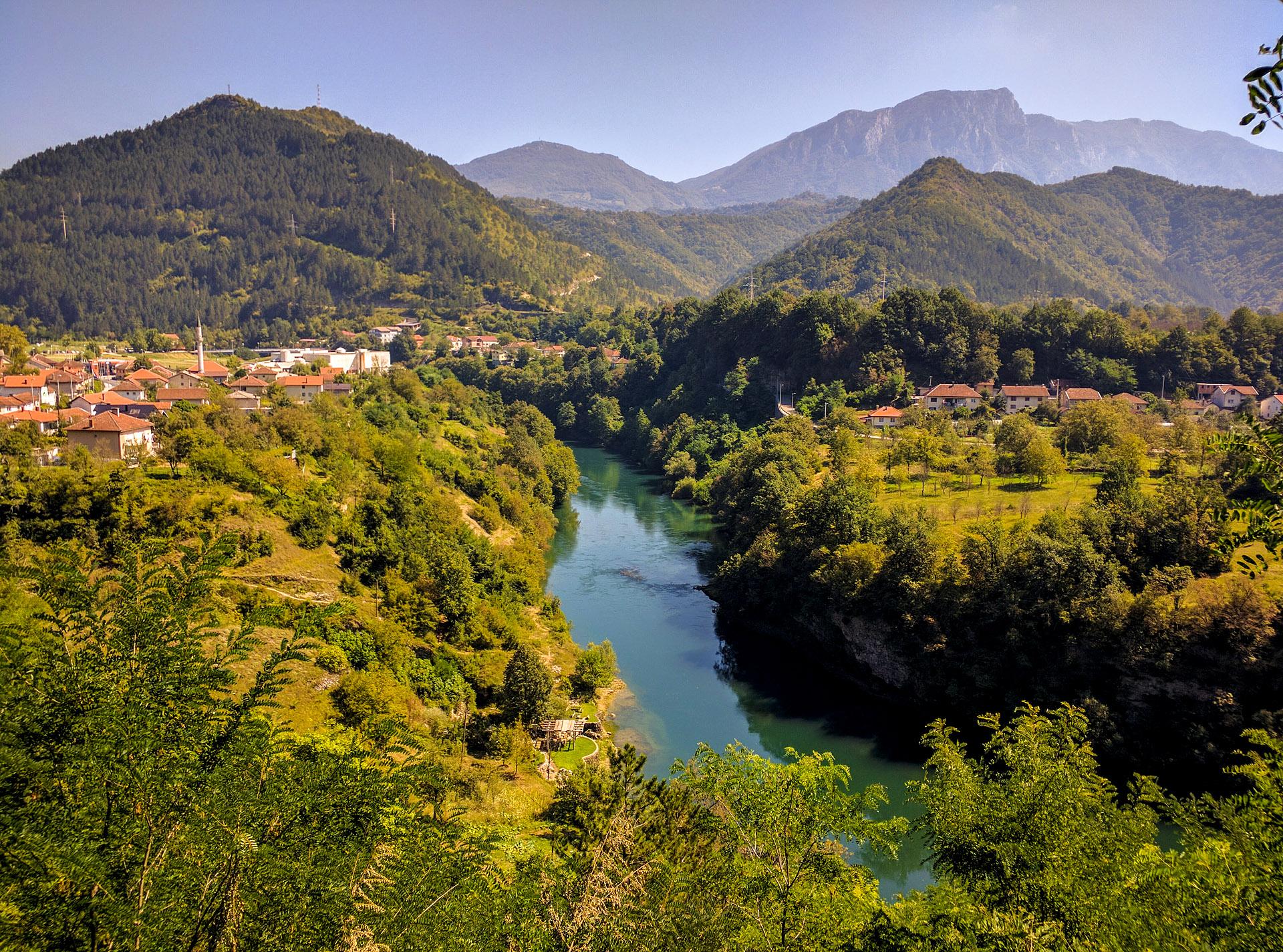 Jablanica, Bosnia & Herzegovina (Neretva River)