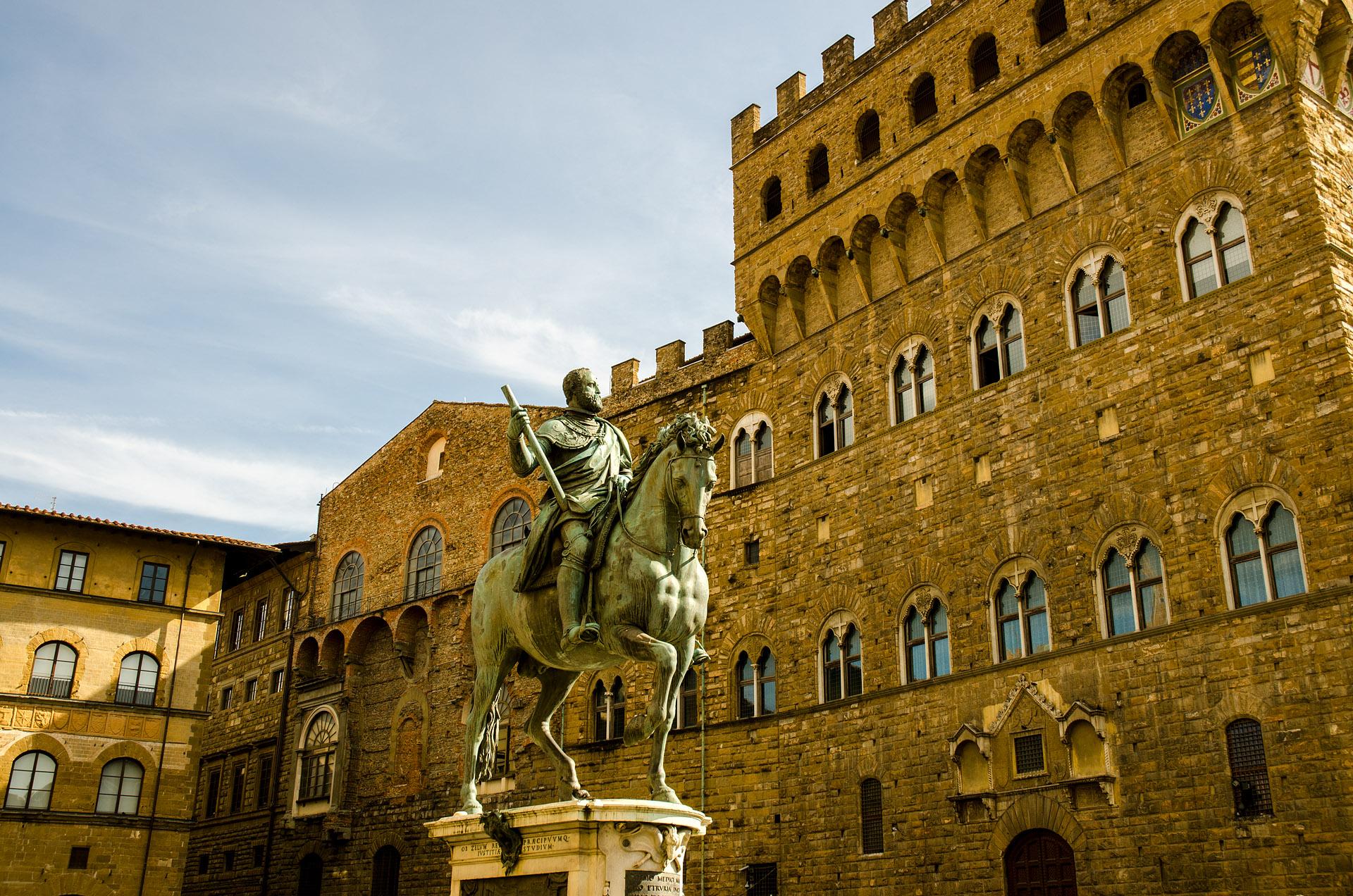 Equestrian Monument of Cosimo I
