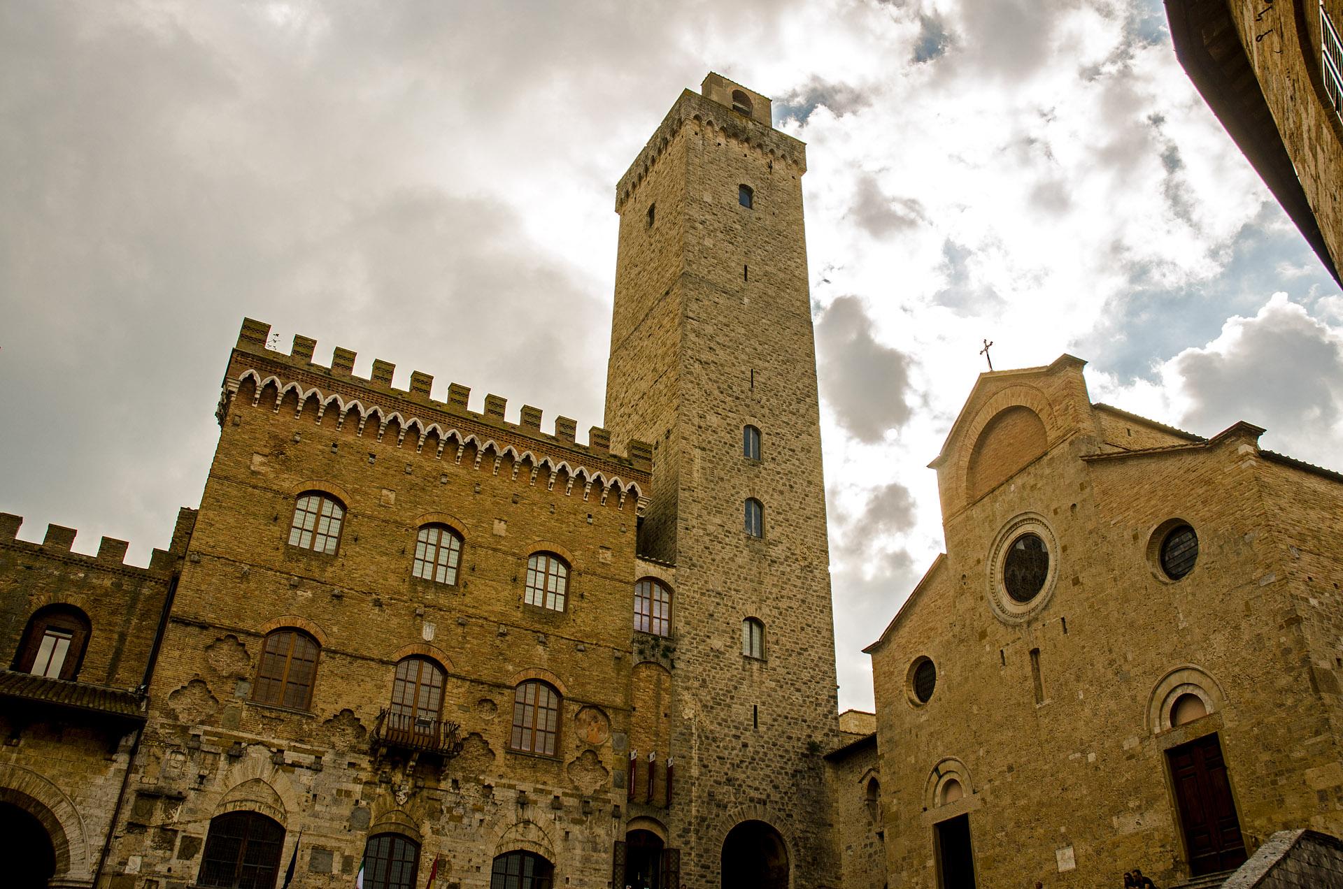 Torre Grossa & Church of Santa Maria Assunta