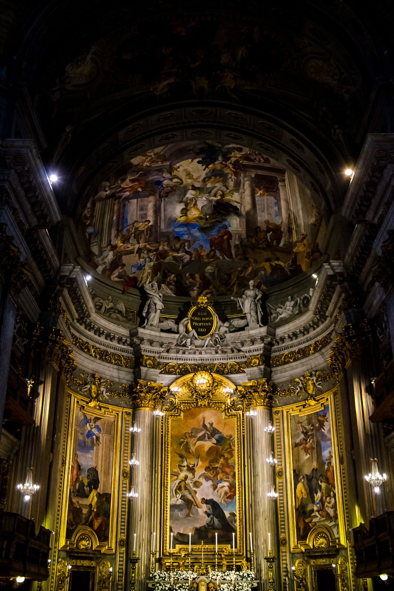 Church of Saint Ignatius (interior)