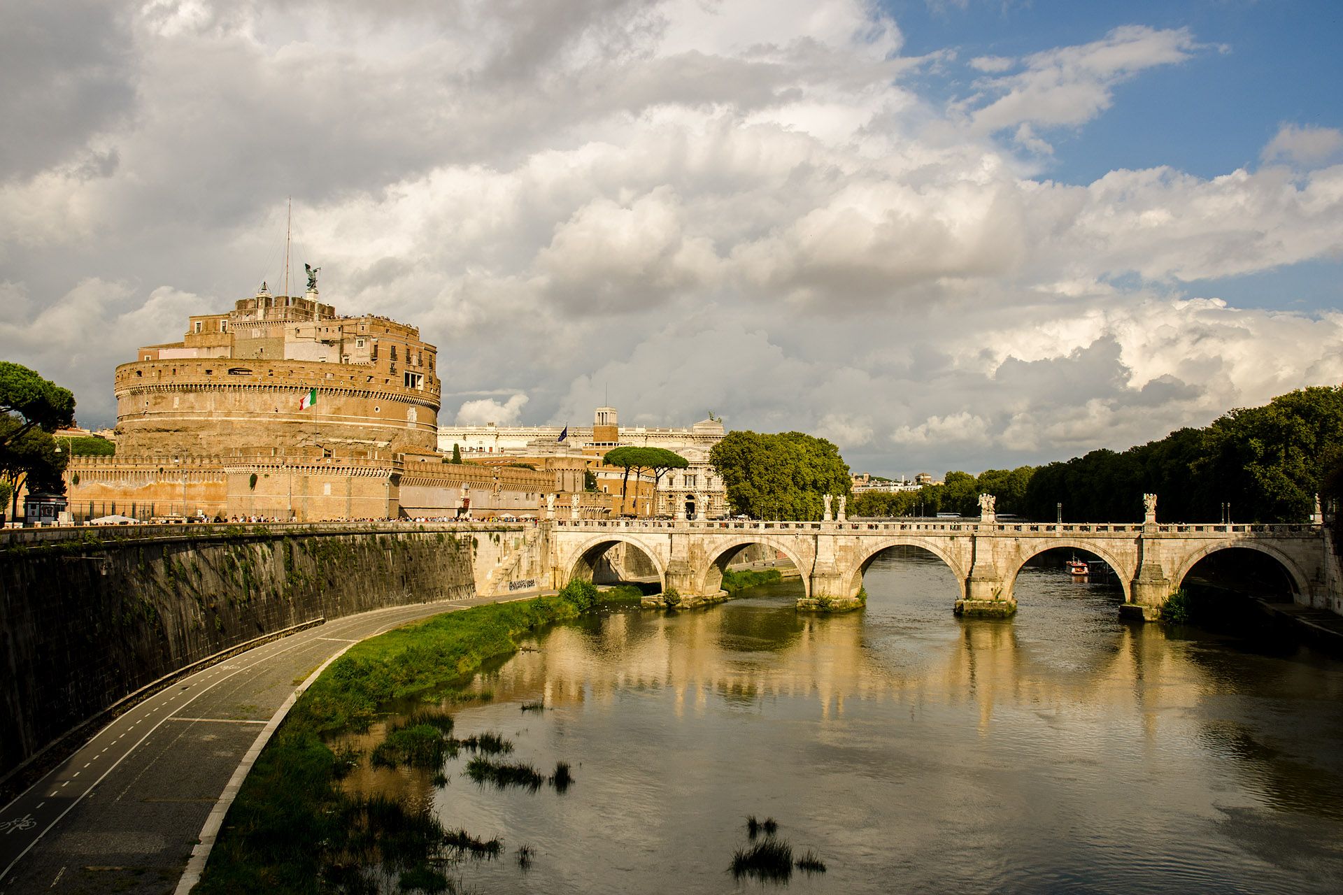 Castle Sant'Angelo & St. Angelo Bridge