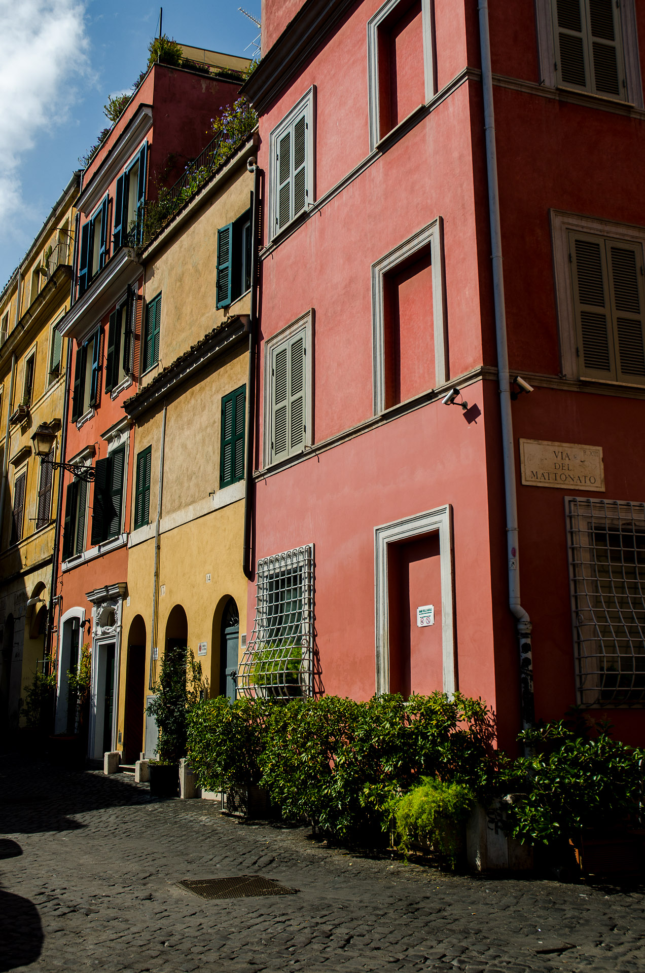 Trastevere neighborhood