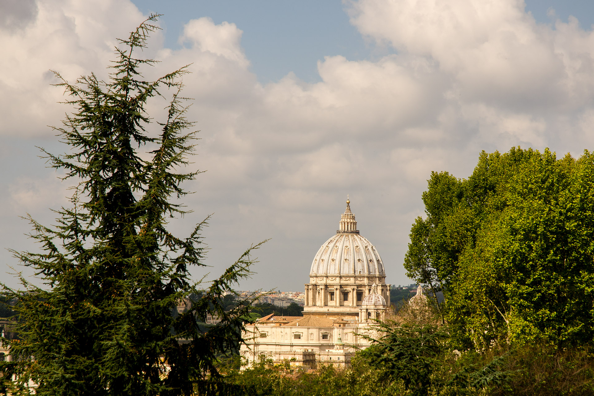 St. Peter's Basilica from Janiculum Hill
