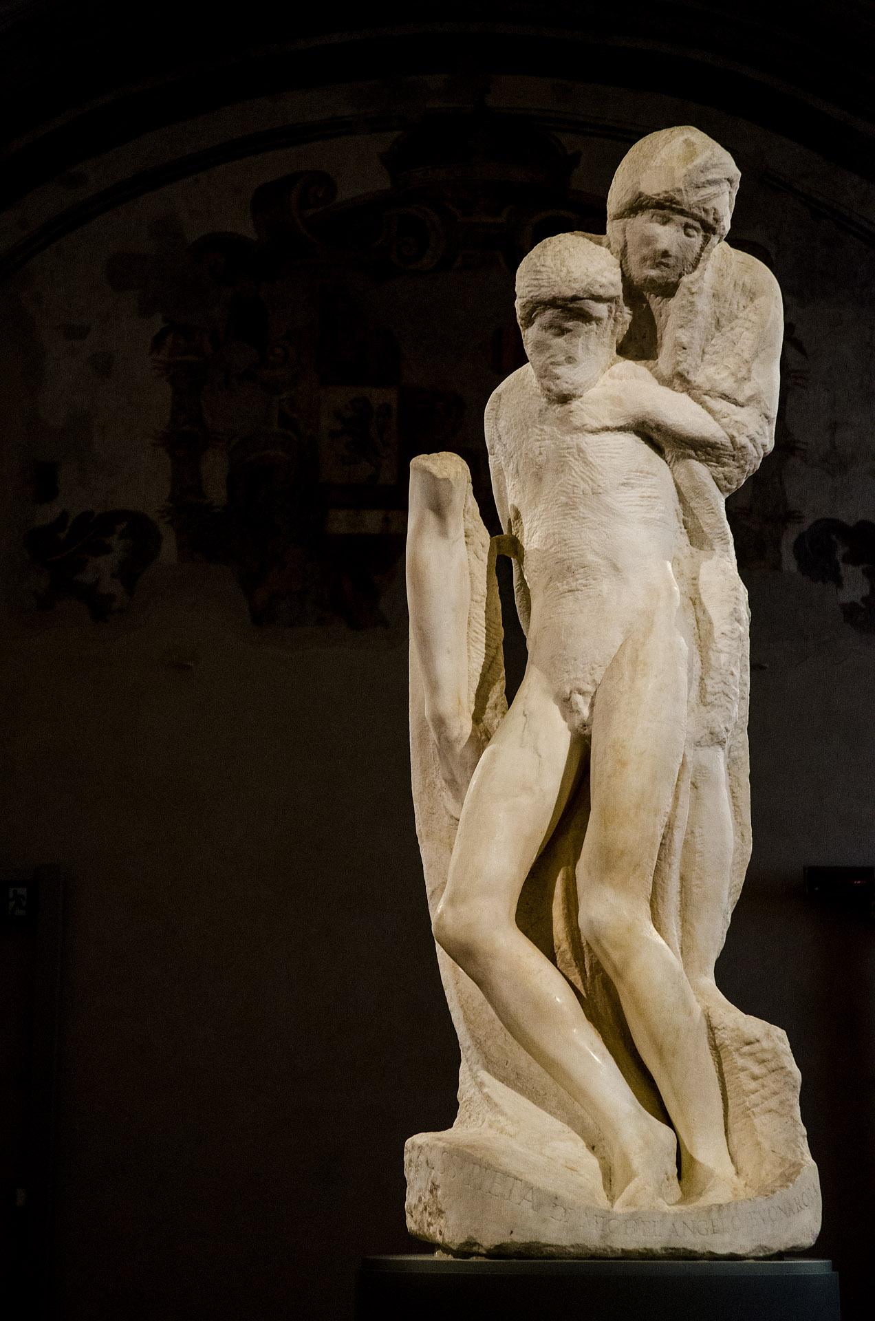 Michelangelo's Rondanini Pietà