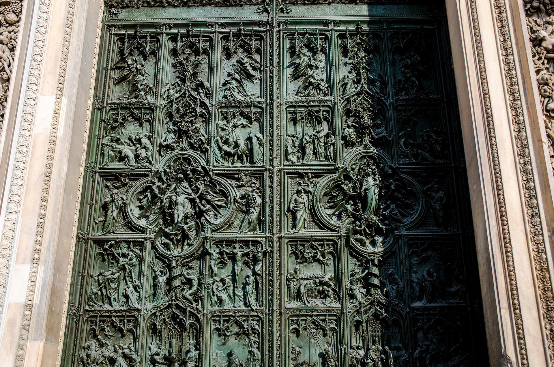 Duomo door