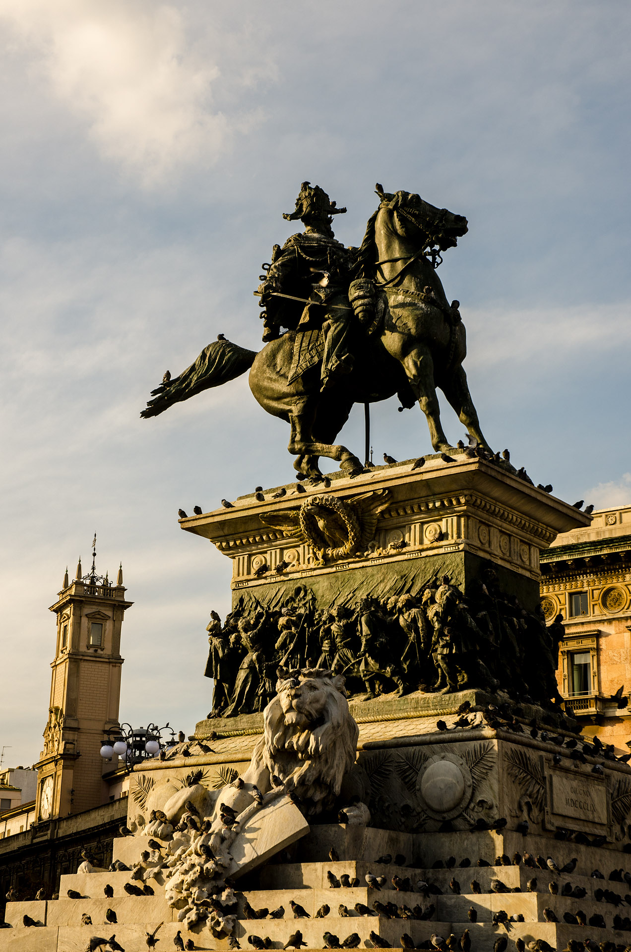 Equestrian Monument to Victor Emmanuel II