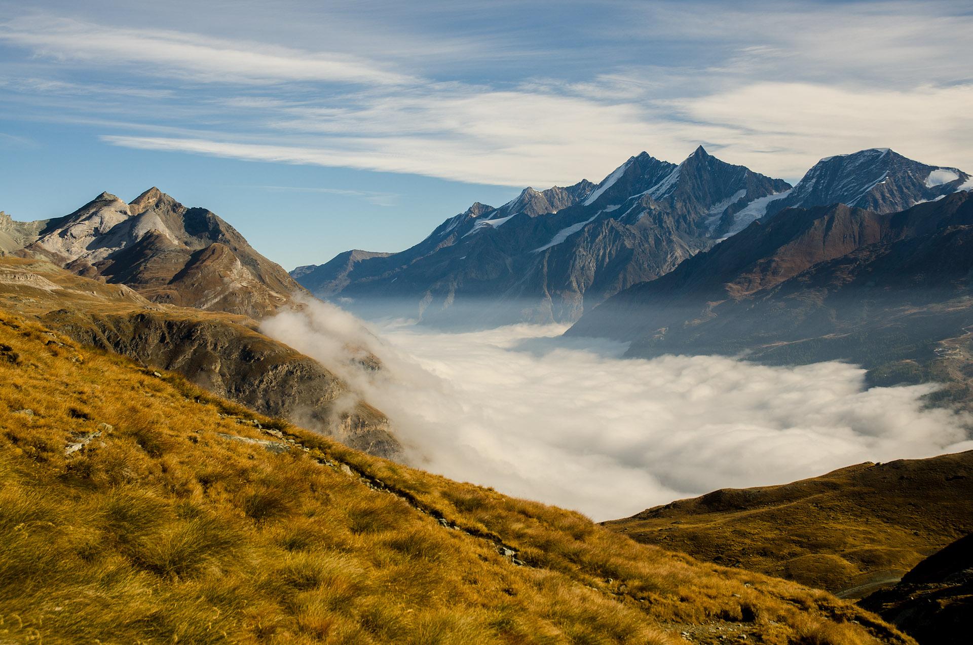 Fog over the Matter Valley