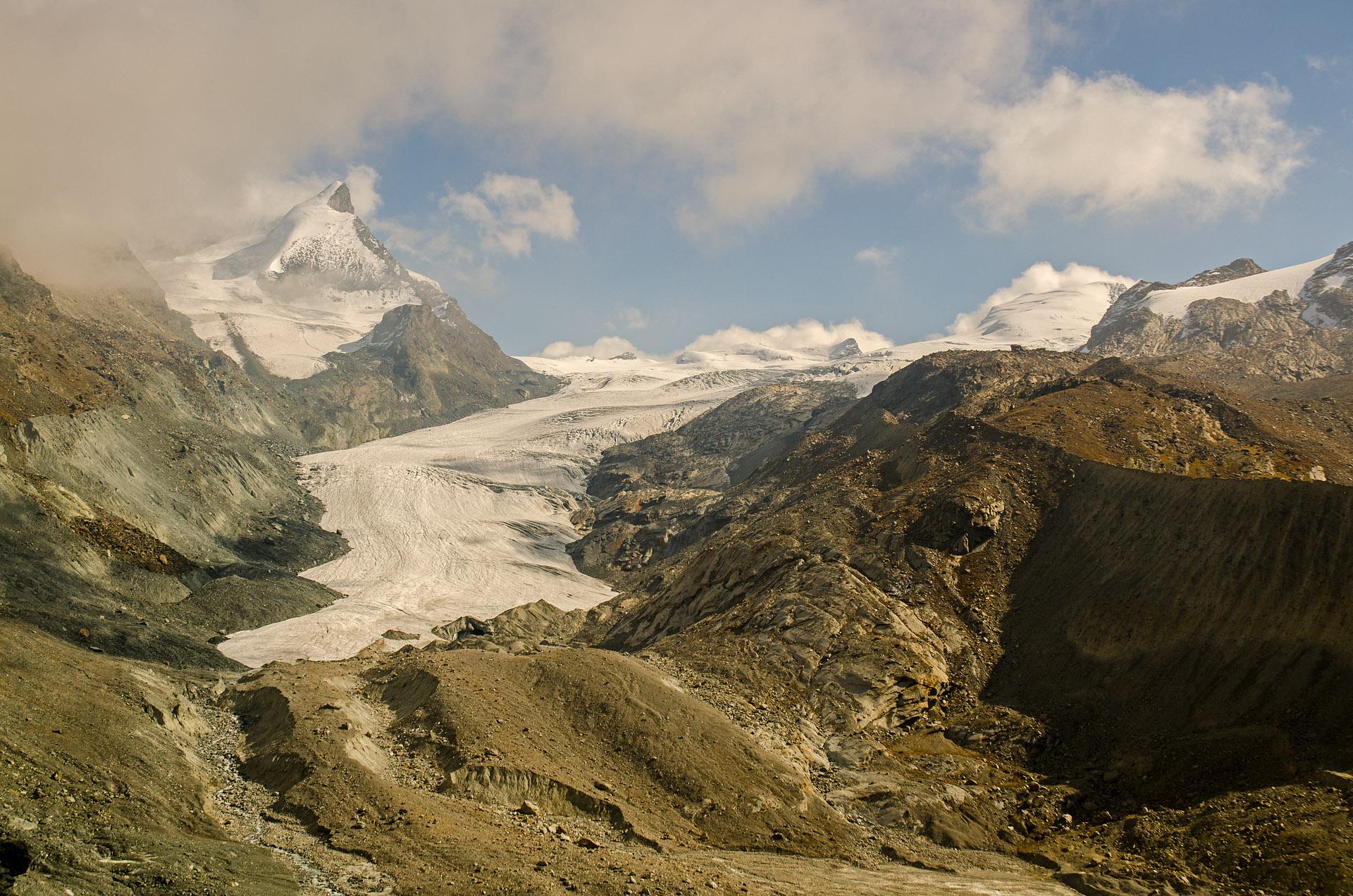 Adlerhorn & Findel Glacier