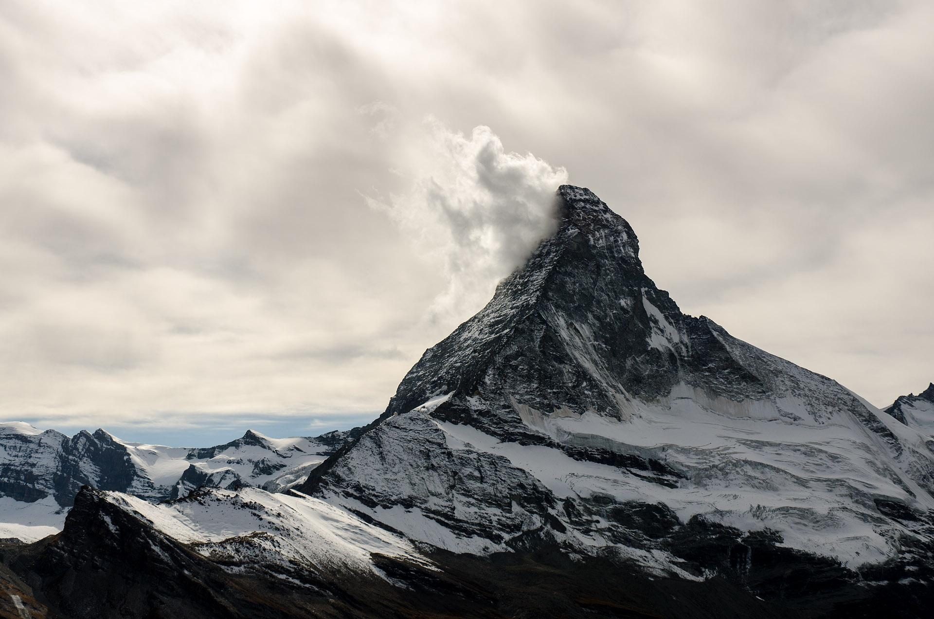 Matterhorn & Matterhorn Glacier