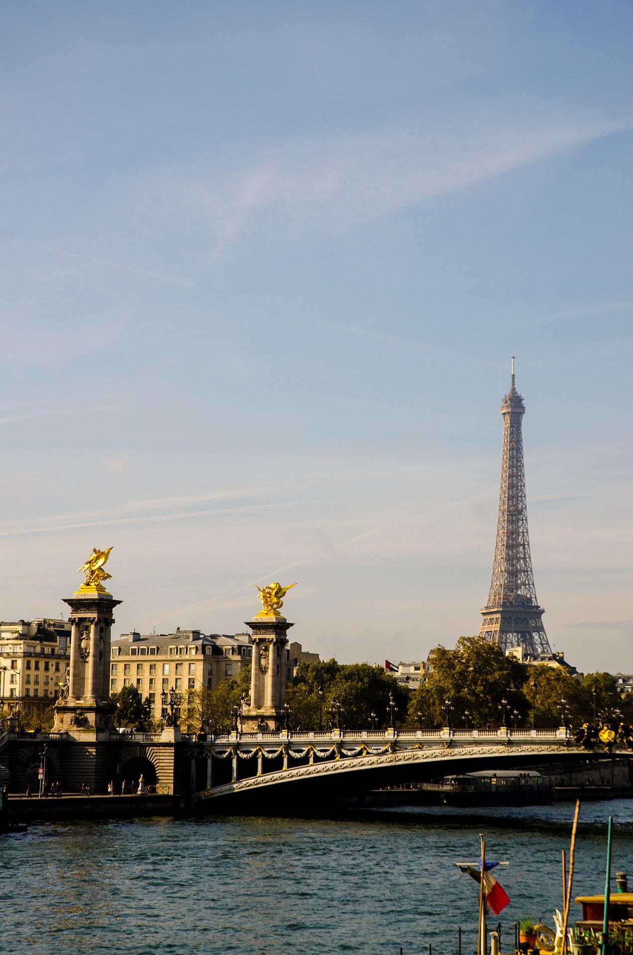 Pont Alexander III & Eiffel Tower