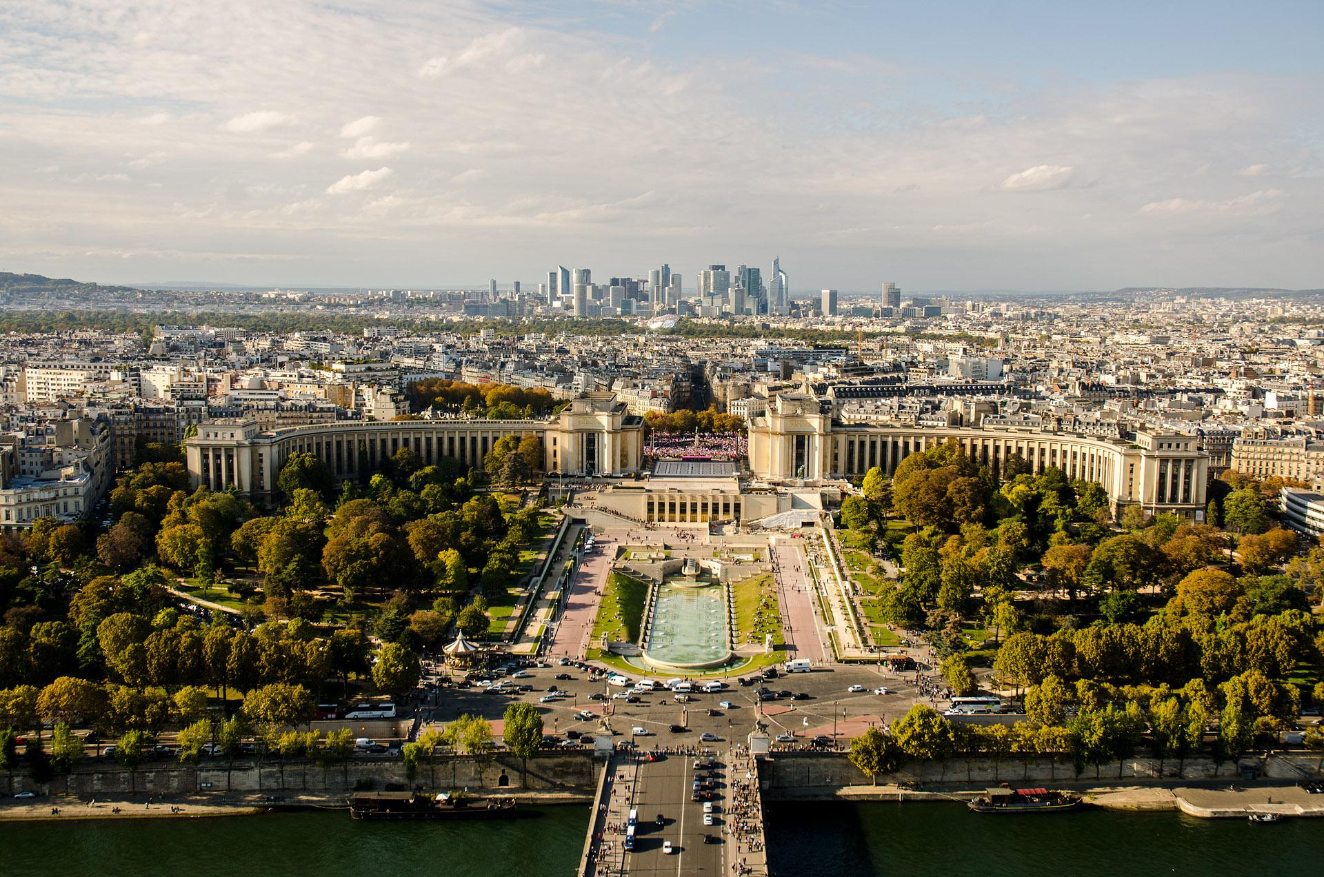 Palais de Chaillot & Trocadero Gardens