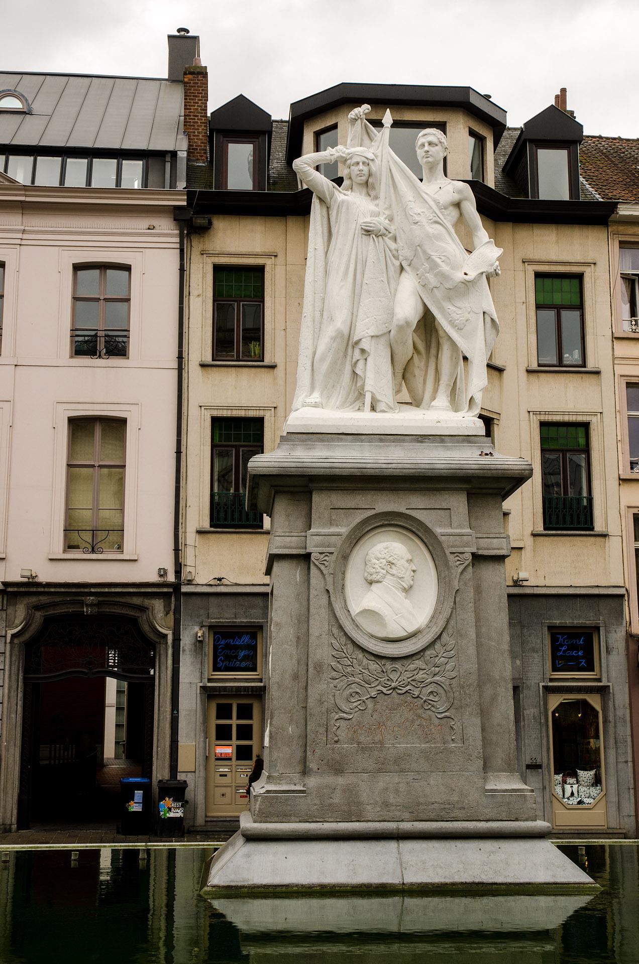 Jan Frans Willems statue