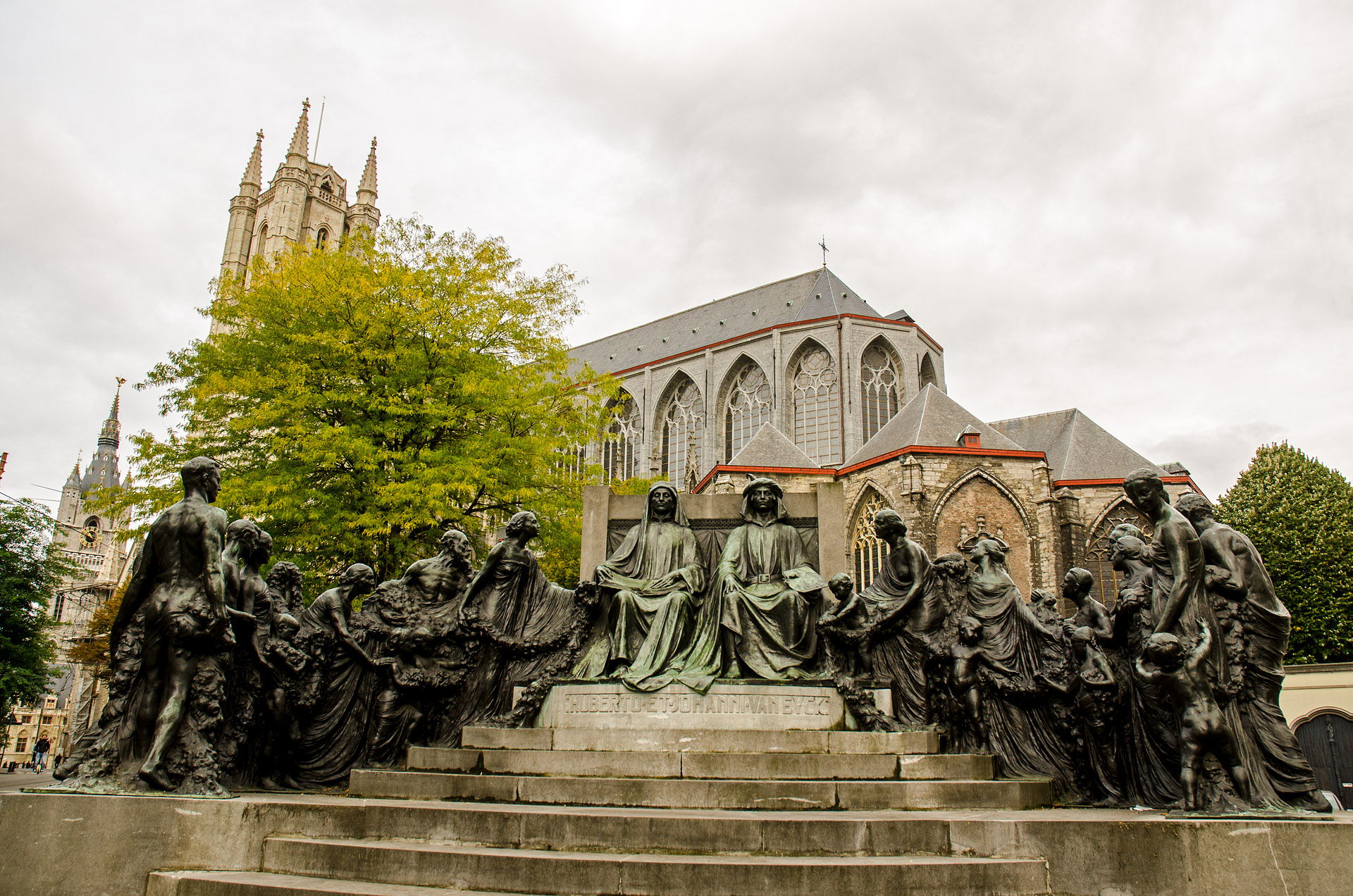 Monument to the Brothers Van Eyck
