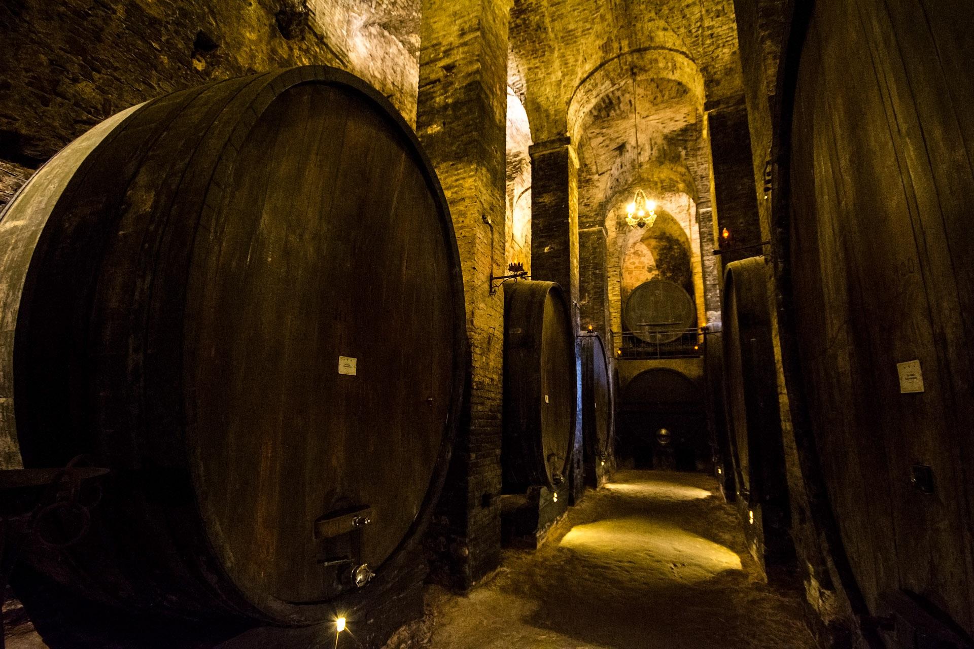 De'Ricci wine cellar