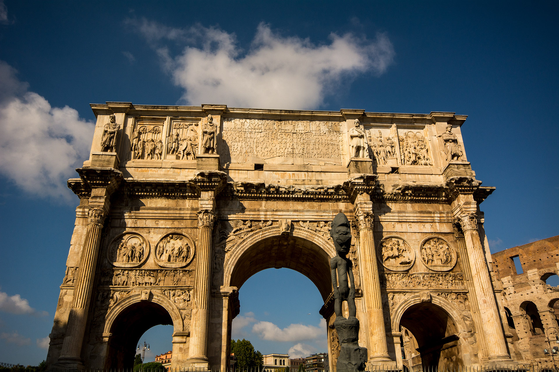 Arch of Constantine (main entrance)