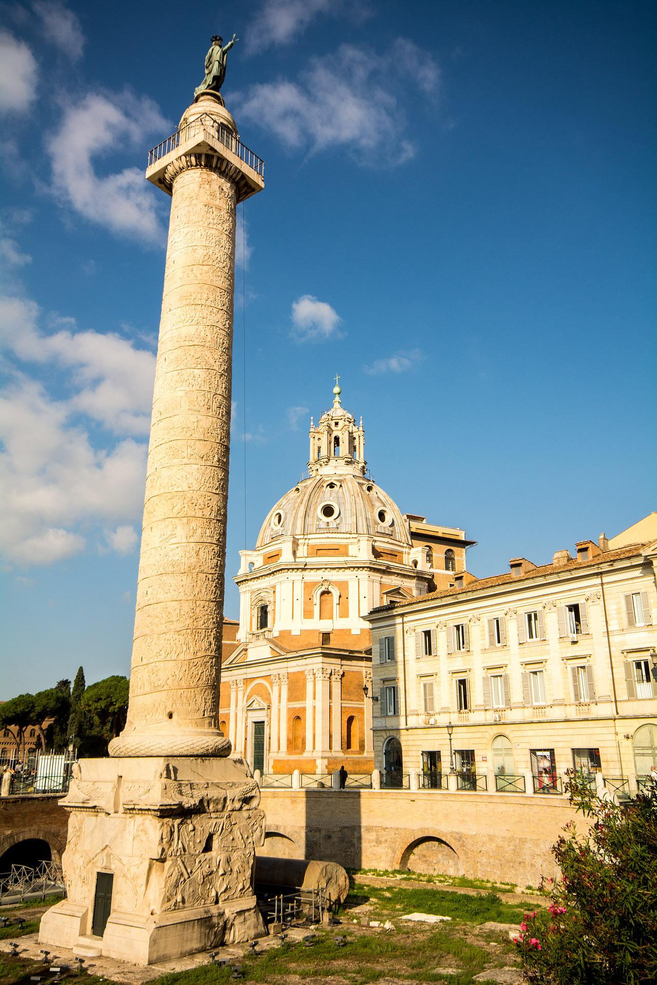 Trajan's Column & Church of Santa Maria di Loreto