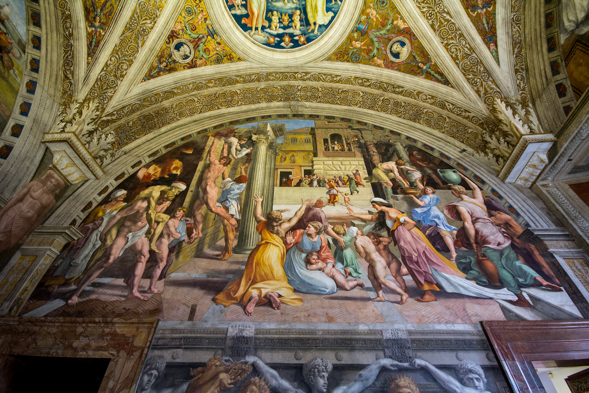 Raphael Rooms (Room of the Fire in the Borgo)