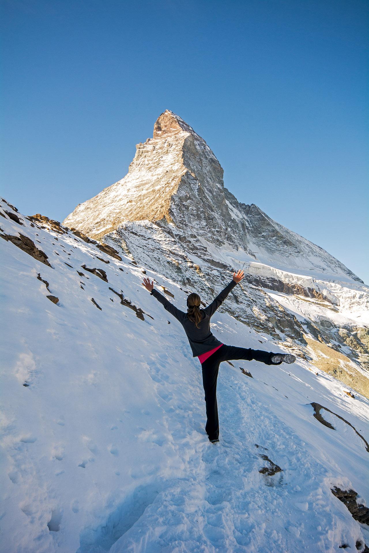 Matterhorn snow dance