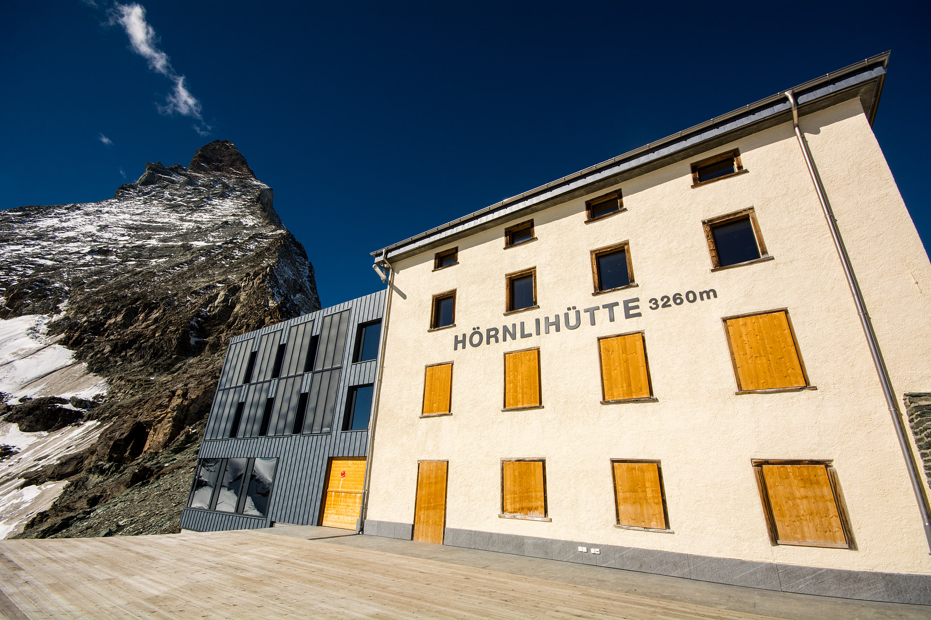 Hornlihutte (Matterhorn Base Camp)