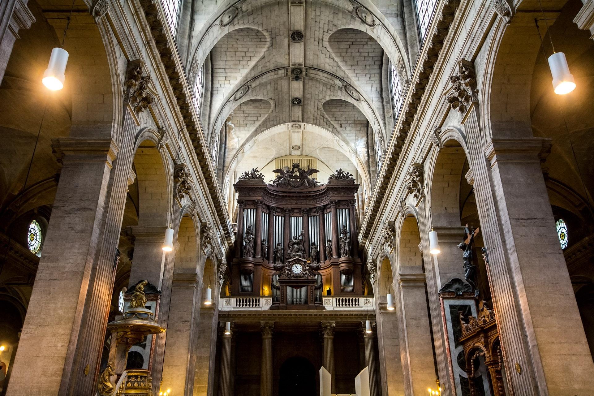 Church of Saint-Sulpice (interior)
