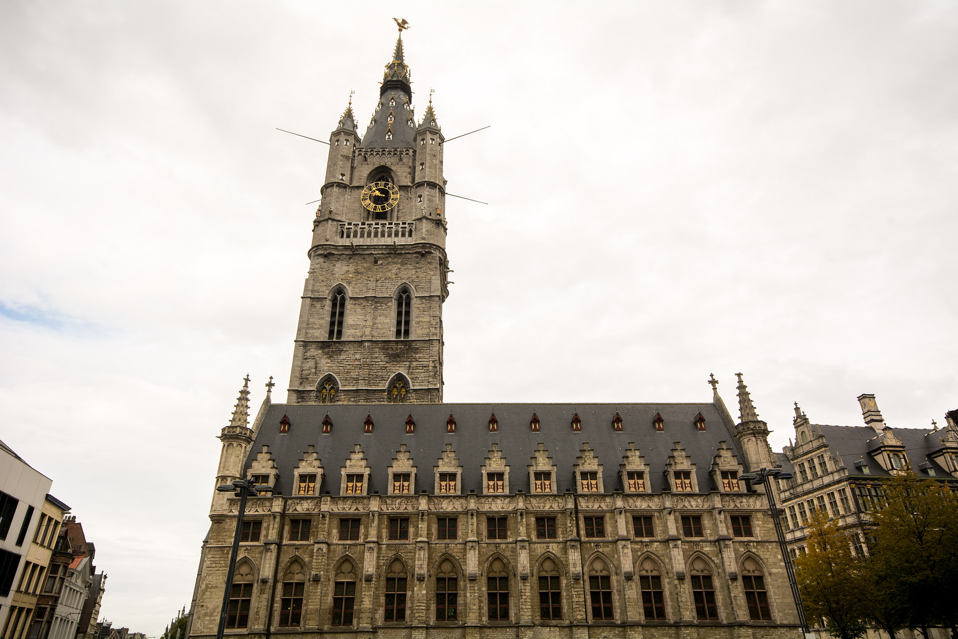 Belfry of Ghent & Lakenhalle (Cloth Hall)