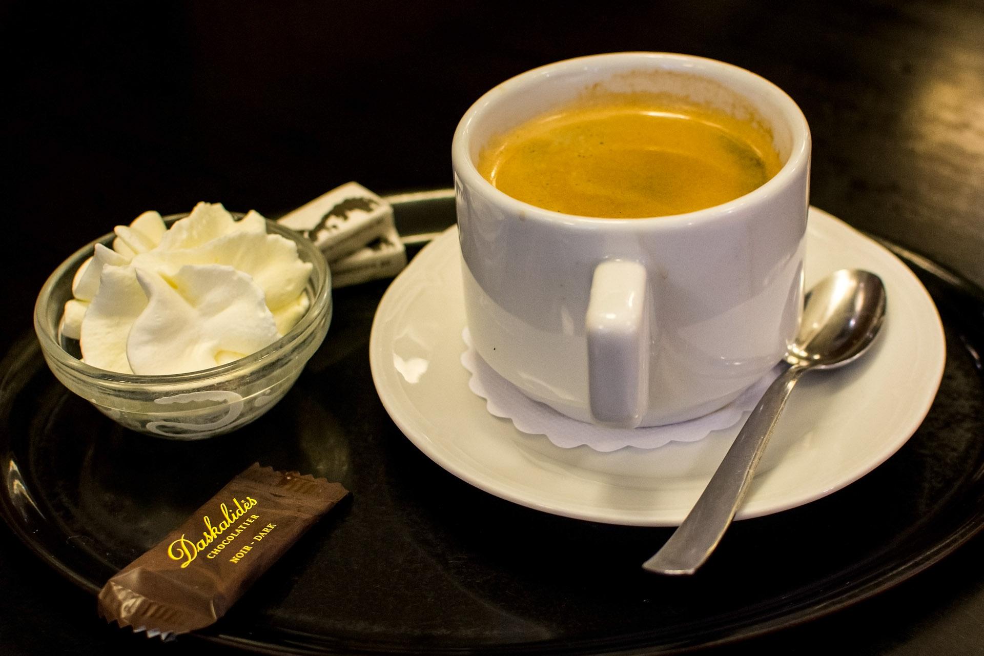 Coffee & cream (Fritz)