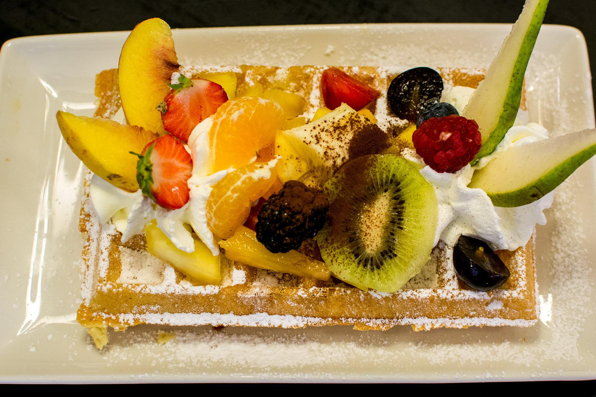Belgian waffle (Fritz)