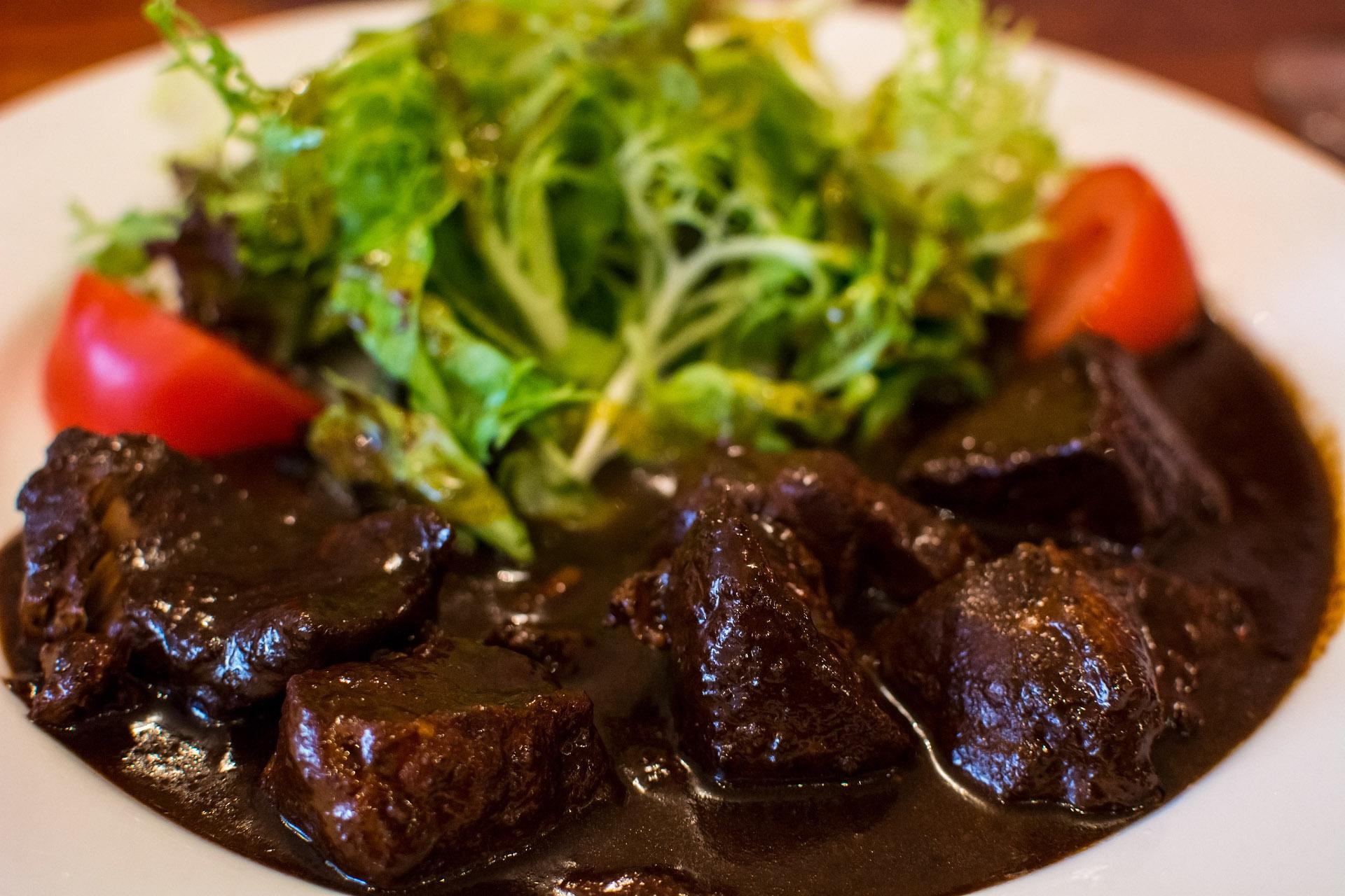 Stoofvlees (Flemish beef & brown beer stew)