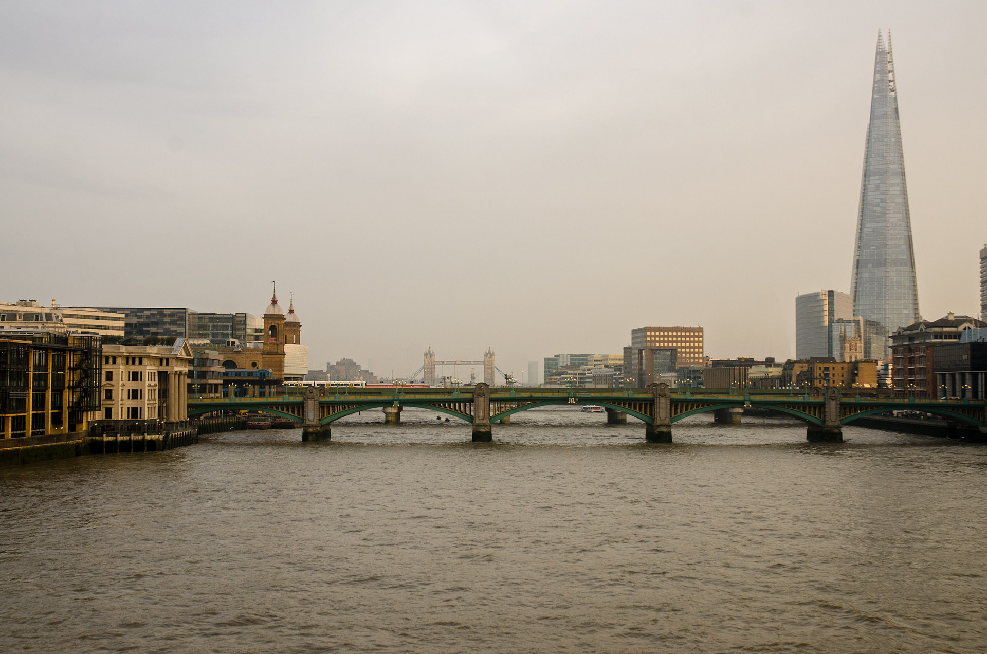 Southwark Bridge & Tower Bridge