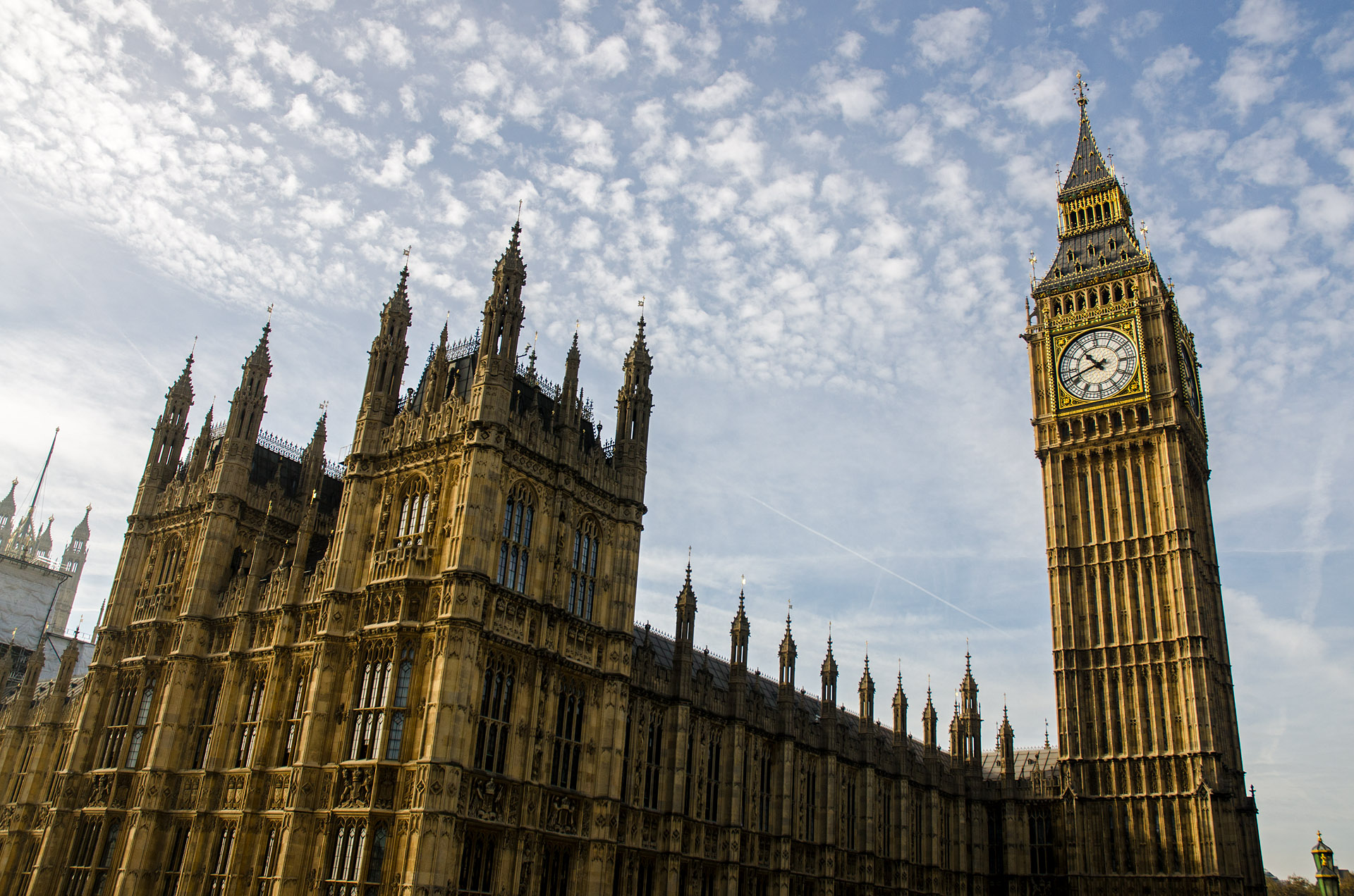 'Big Ben' & Parliament (Palace of Westminster)