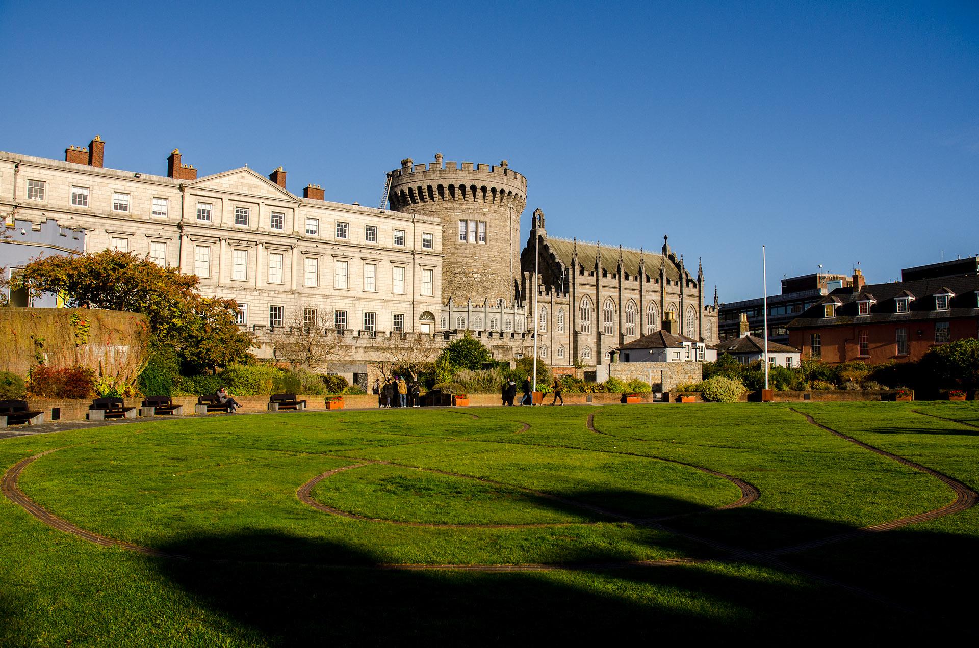 Dublin Castle & Dublin Garden