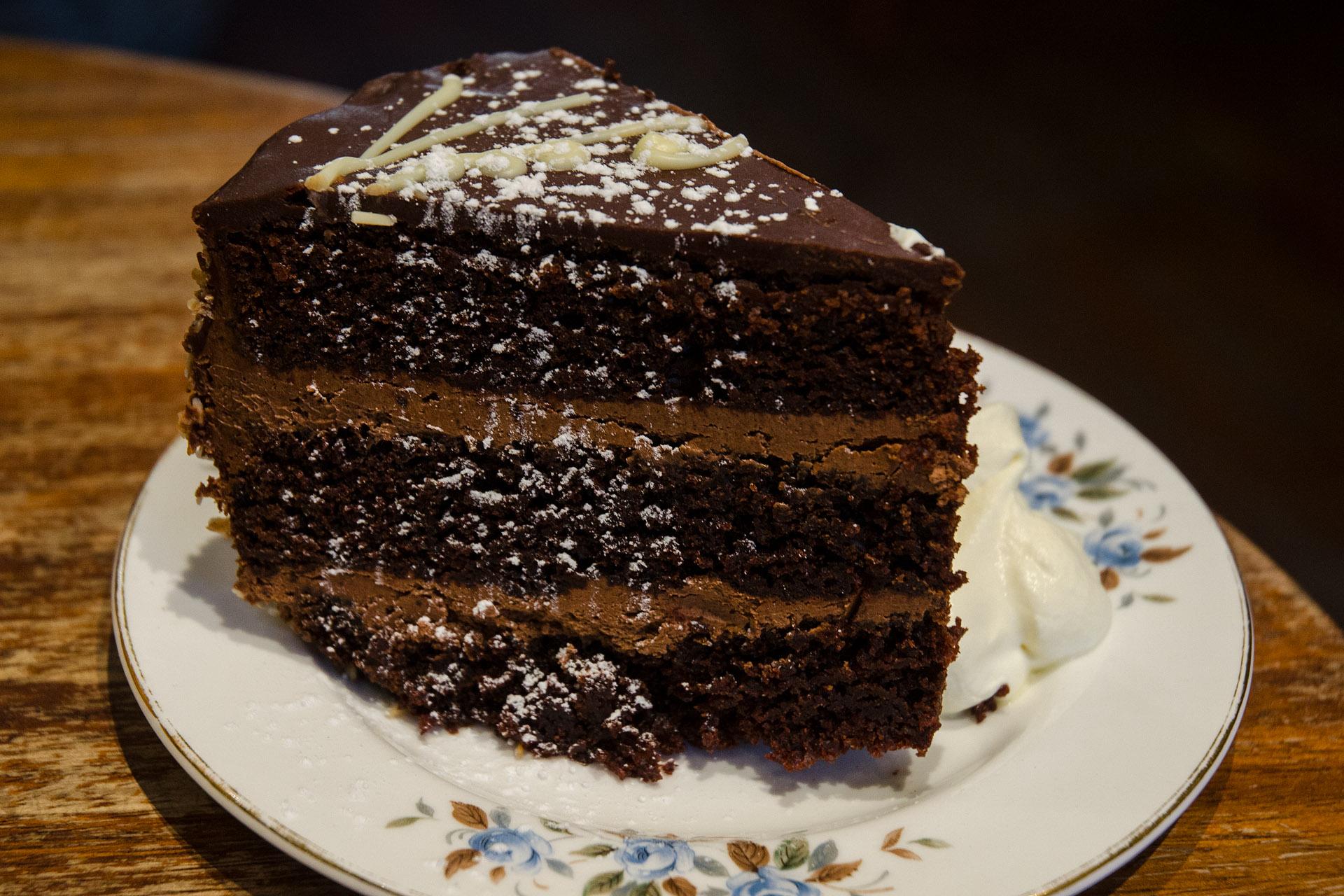 Queen of Tarts fudge cake