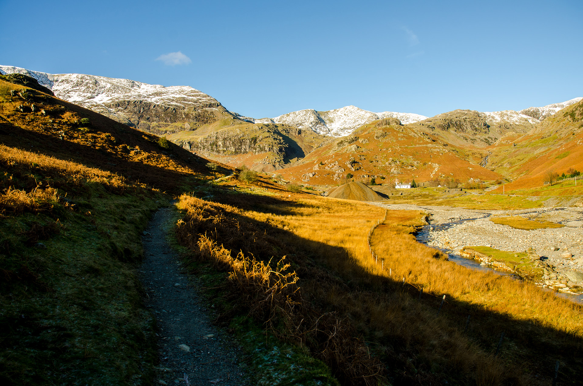 Old Man of Coniston trailhead