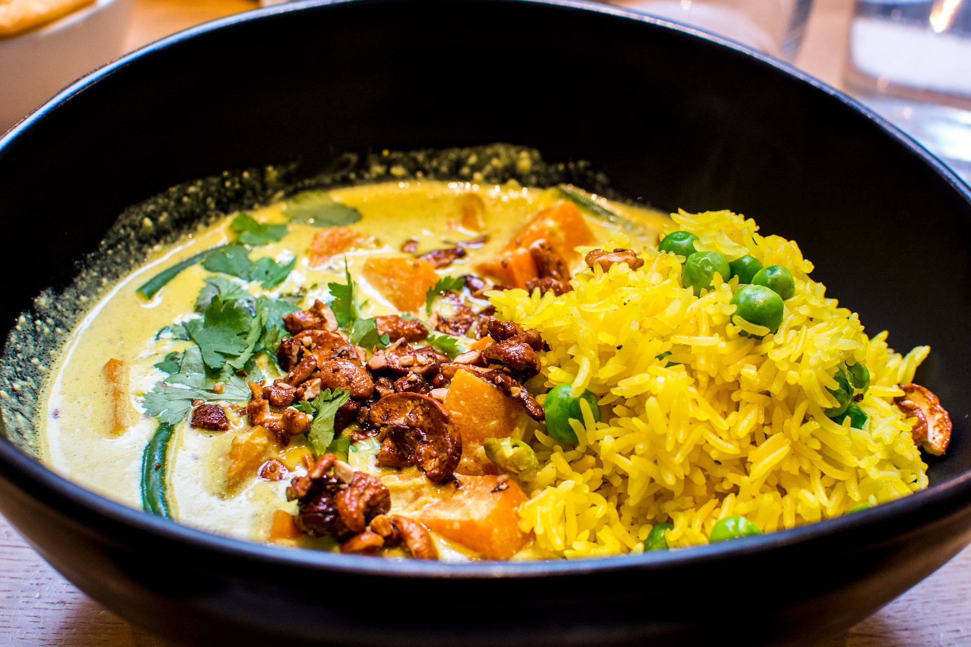 Sri Lankan sweet potato curry