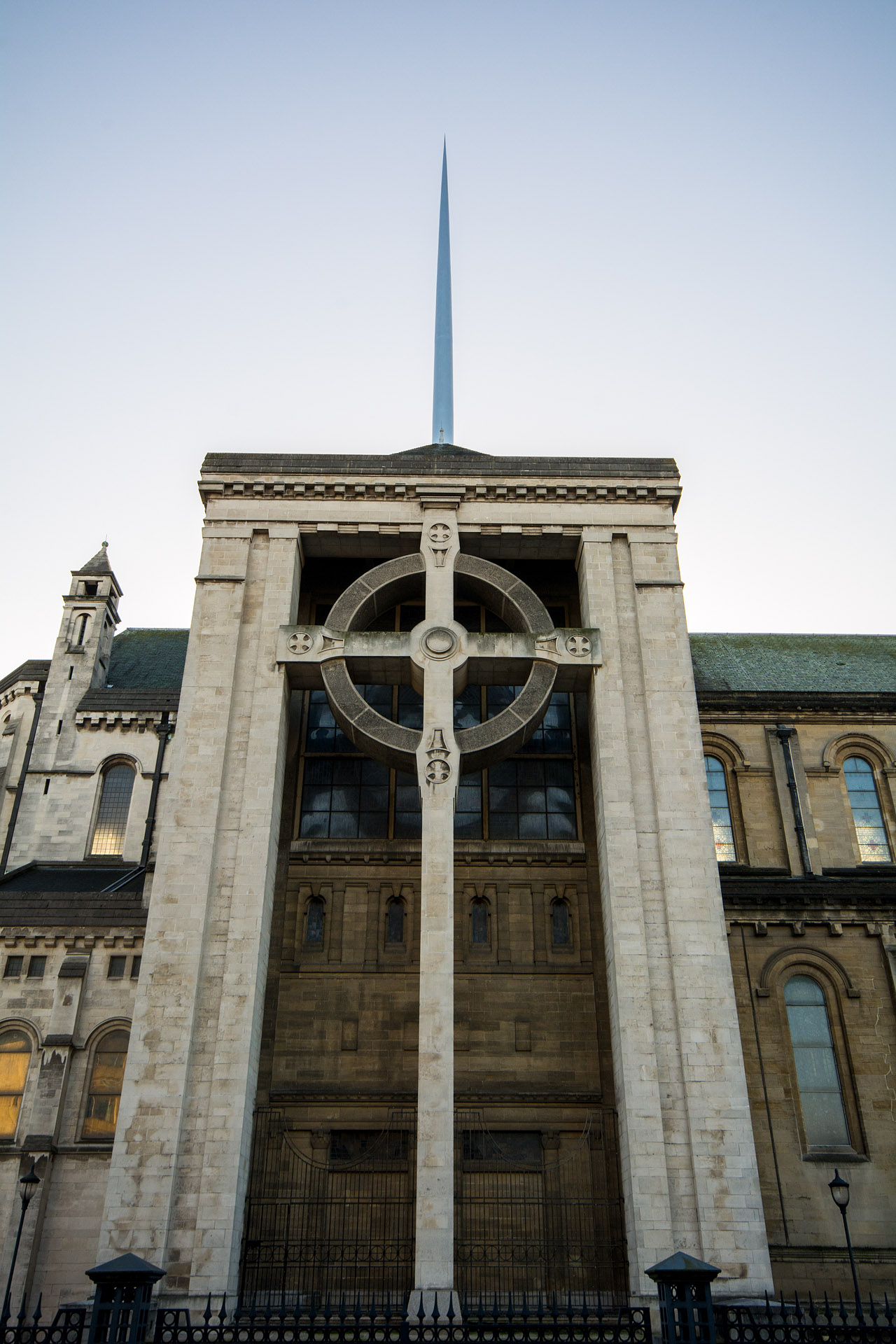 Celtic Cross & Spire of Hope (St. Anne's)