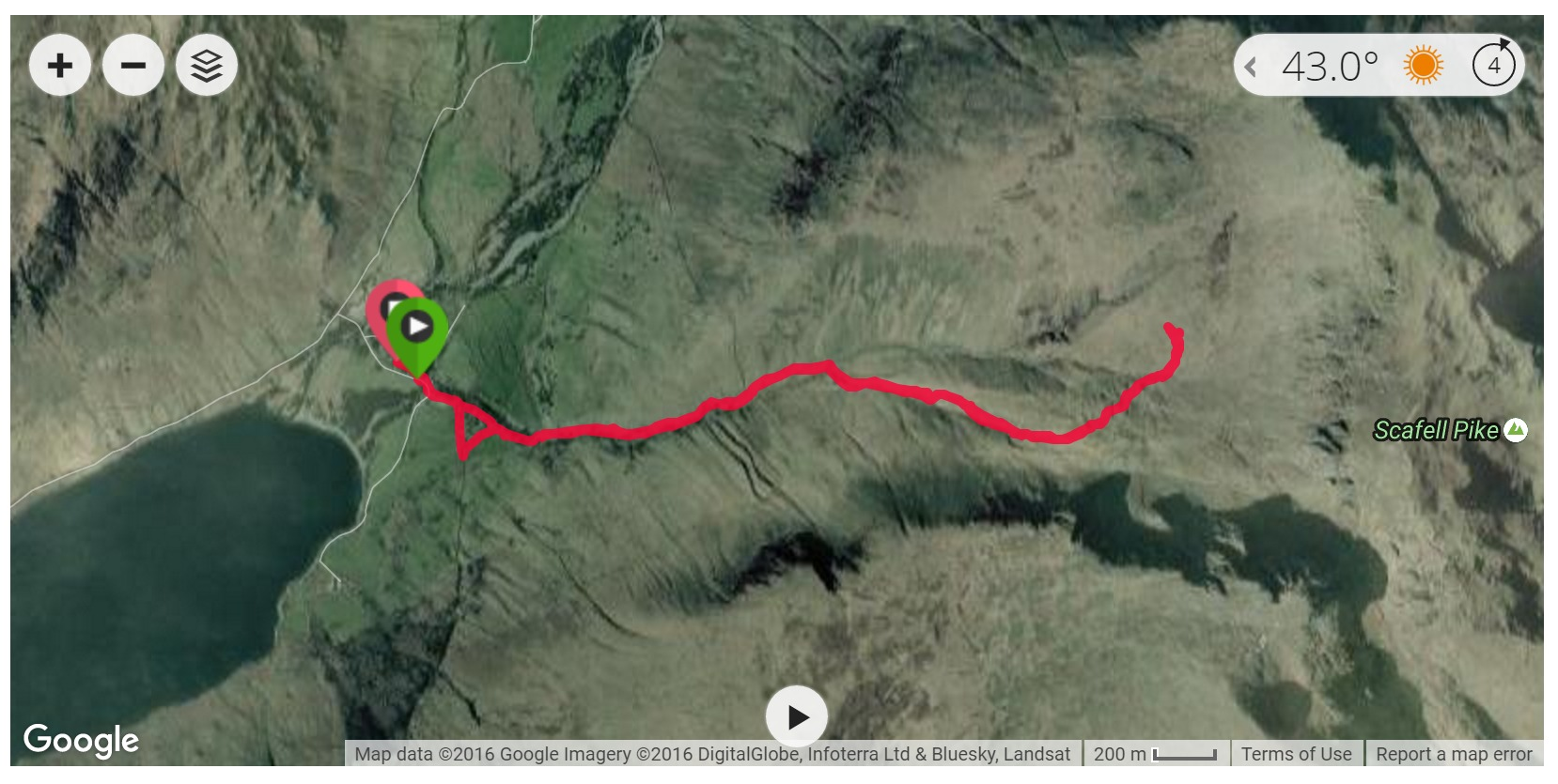 Scafell Pike - Satellite