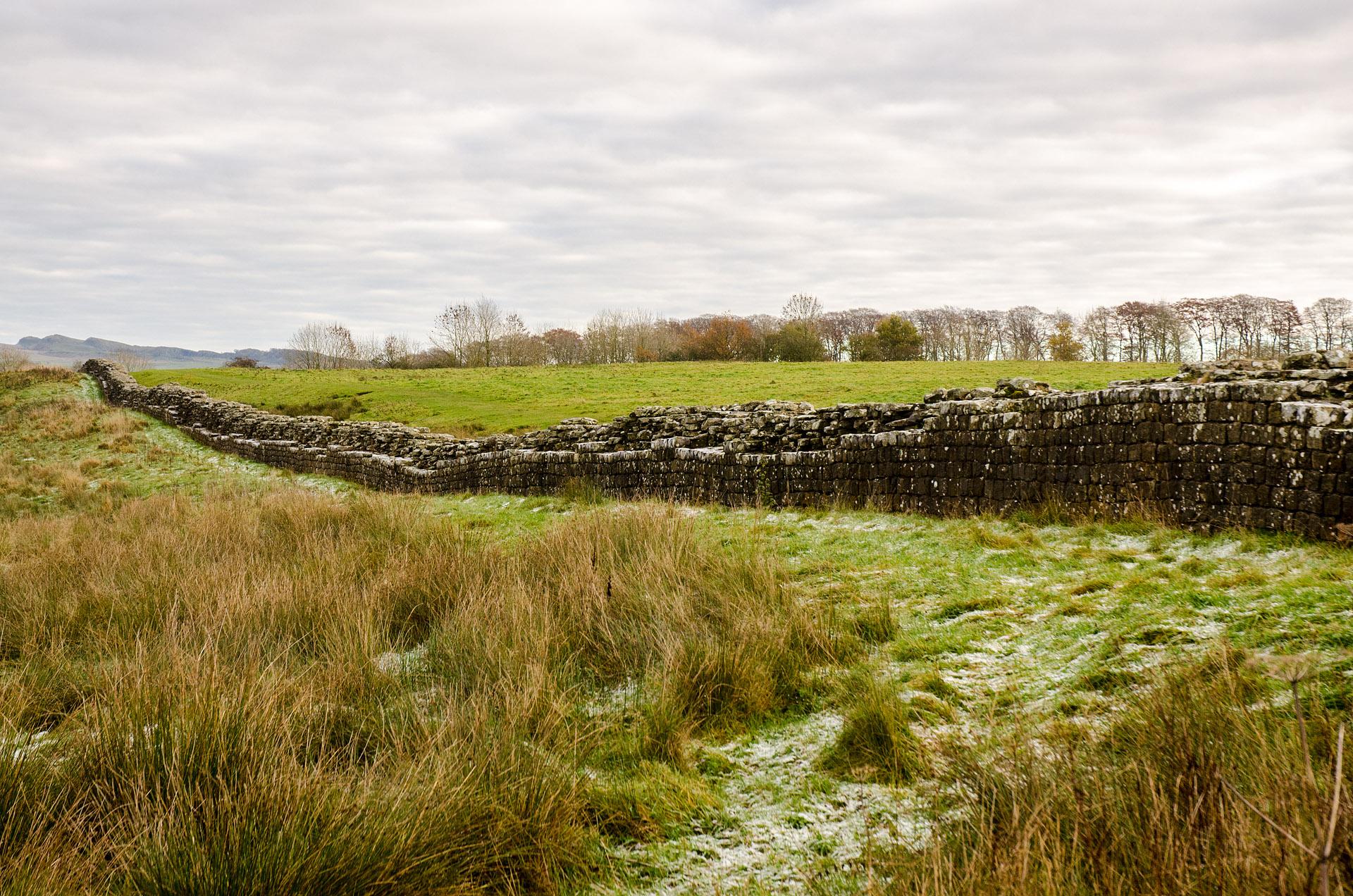 Hadrian's Wall (near Birdoswald Fort)
