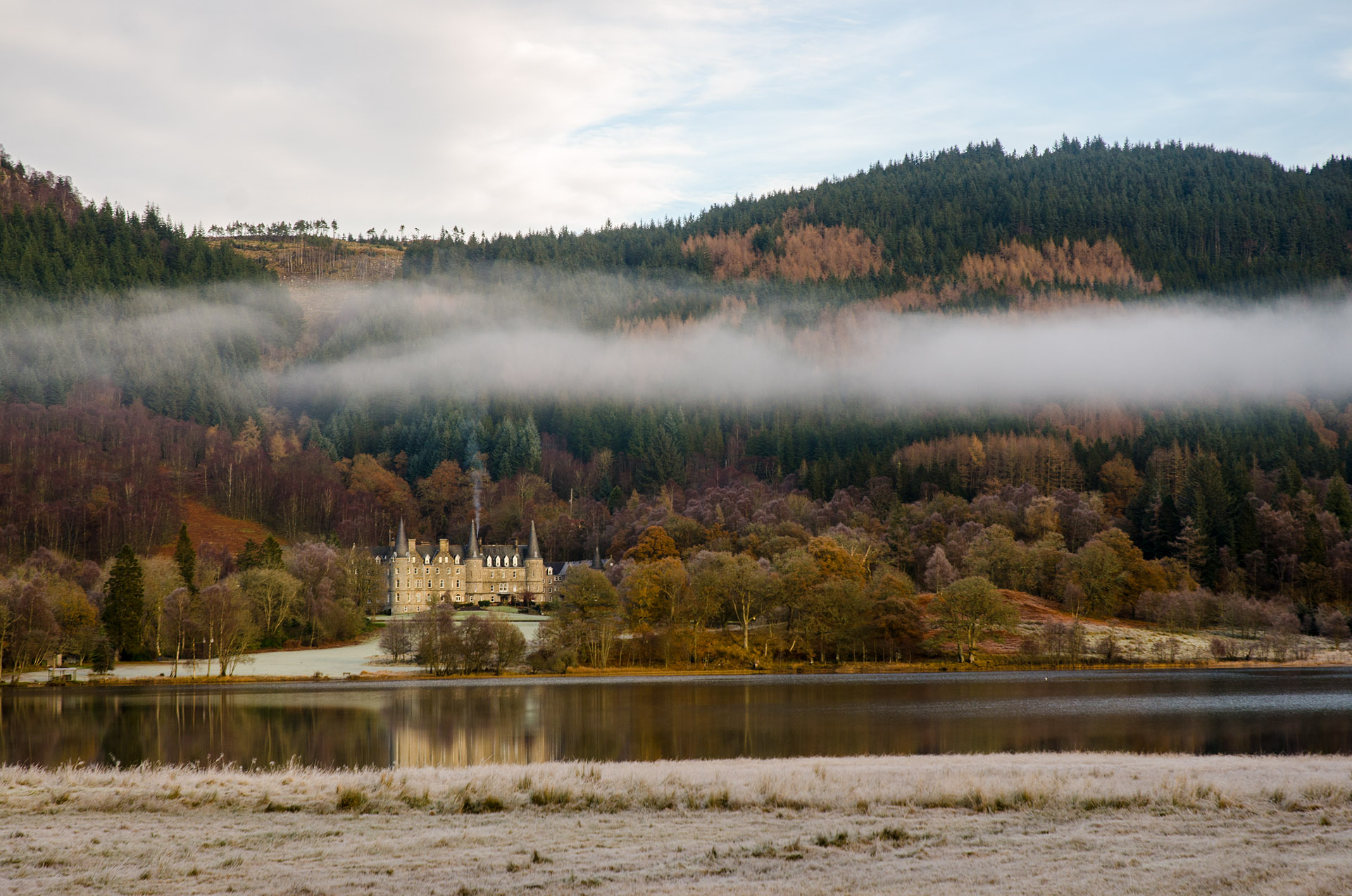 Tigh Mor Trossachs ('big house in the Trossachs')
