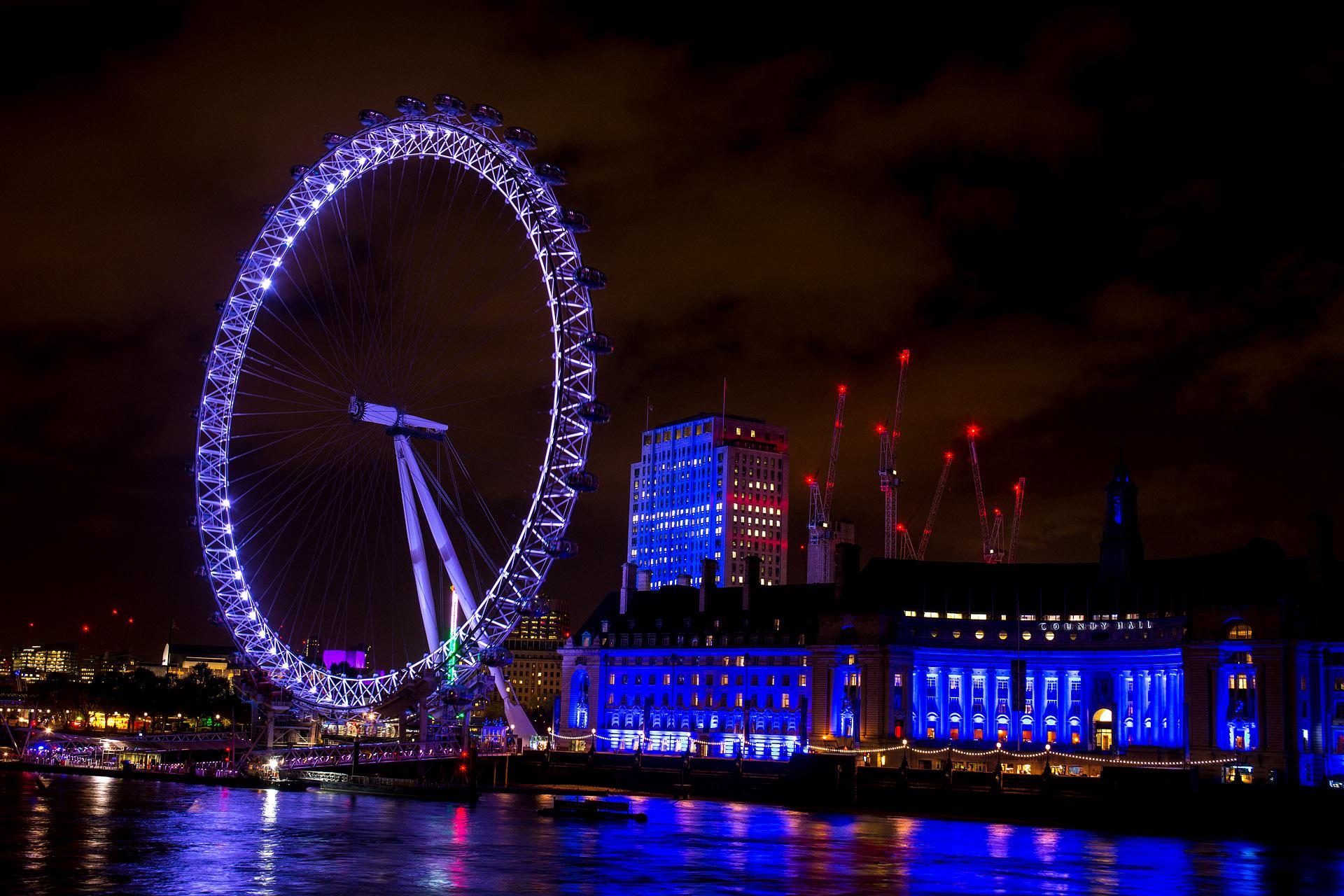 London Eye & The County Hall