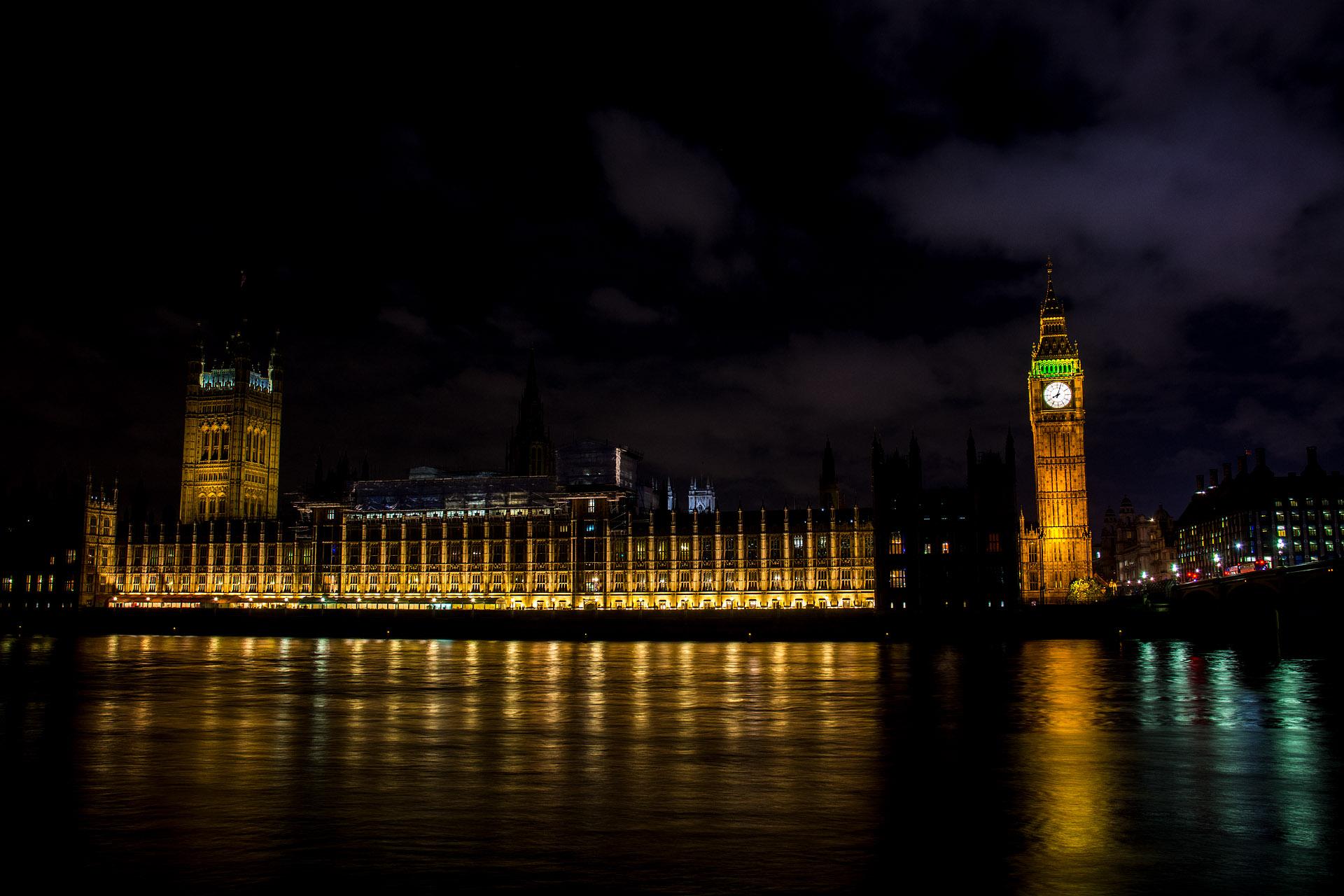 Big Ben, Parliament & Victoria Tower