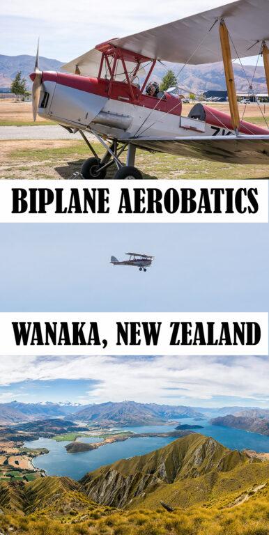 Wanaka Biplane Aerobatics