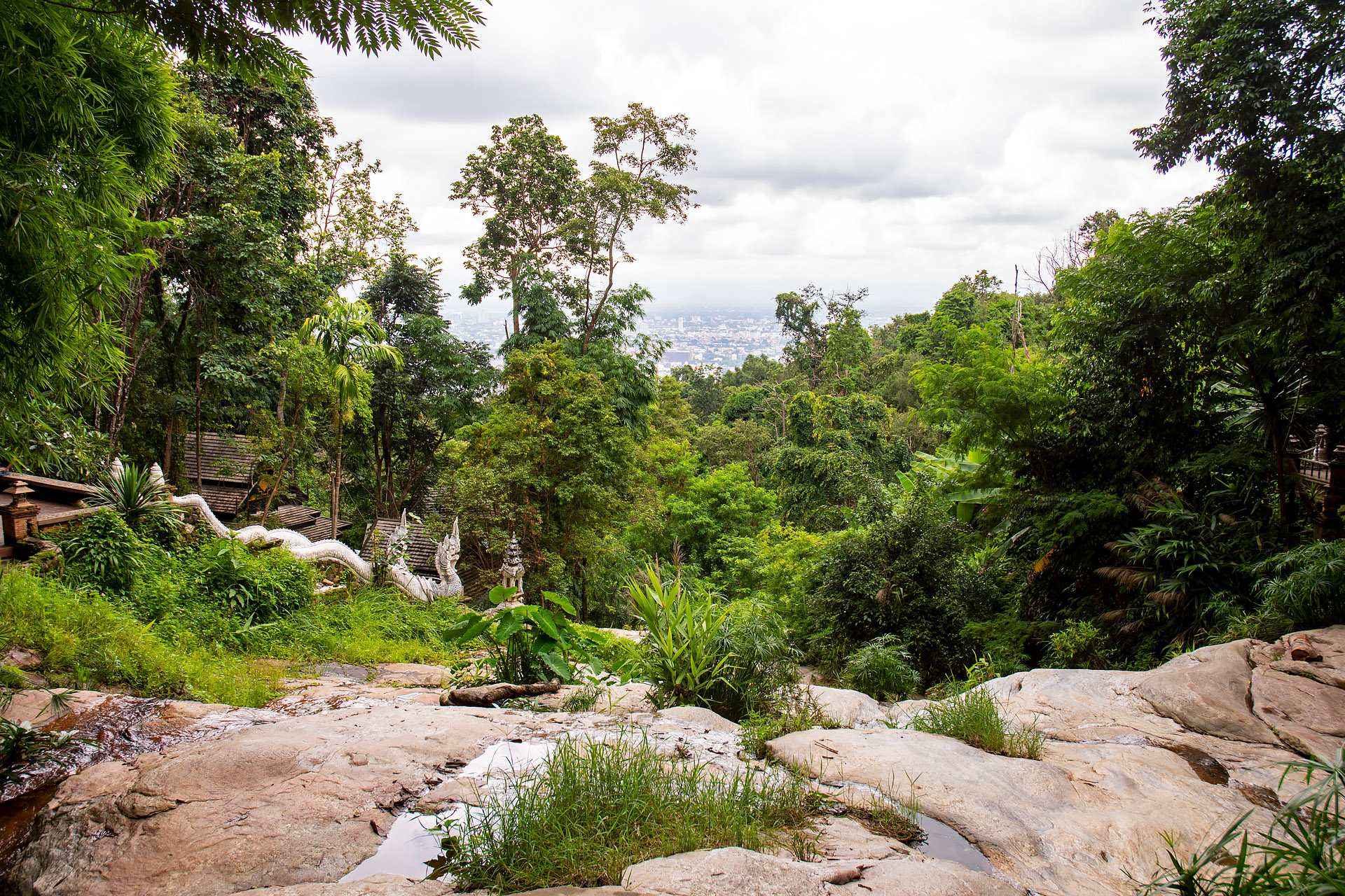 Chiang Mai from Wat Pha Lat
