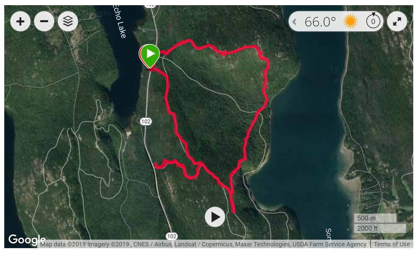 Acadia & St. Sauveur Mountains - Satellite