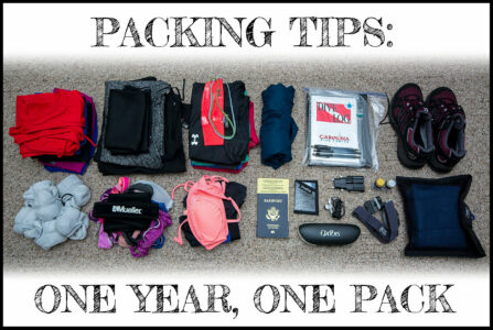 Packing Tips - One Year, One Pack